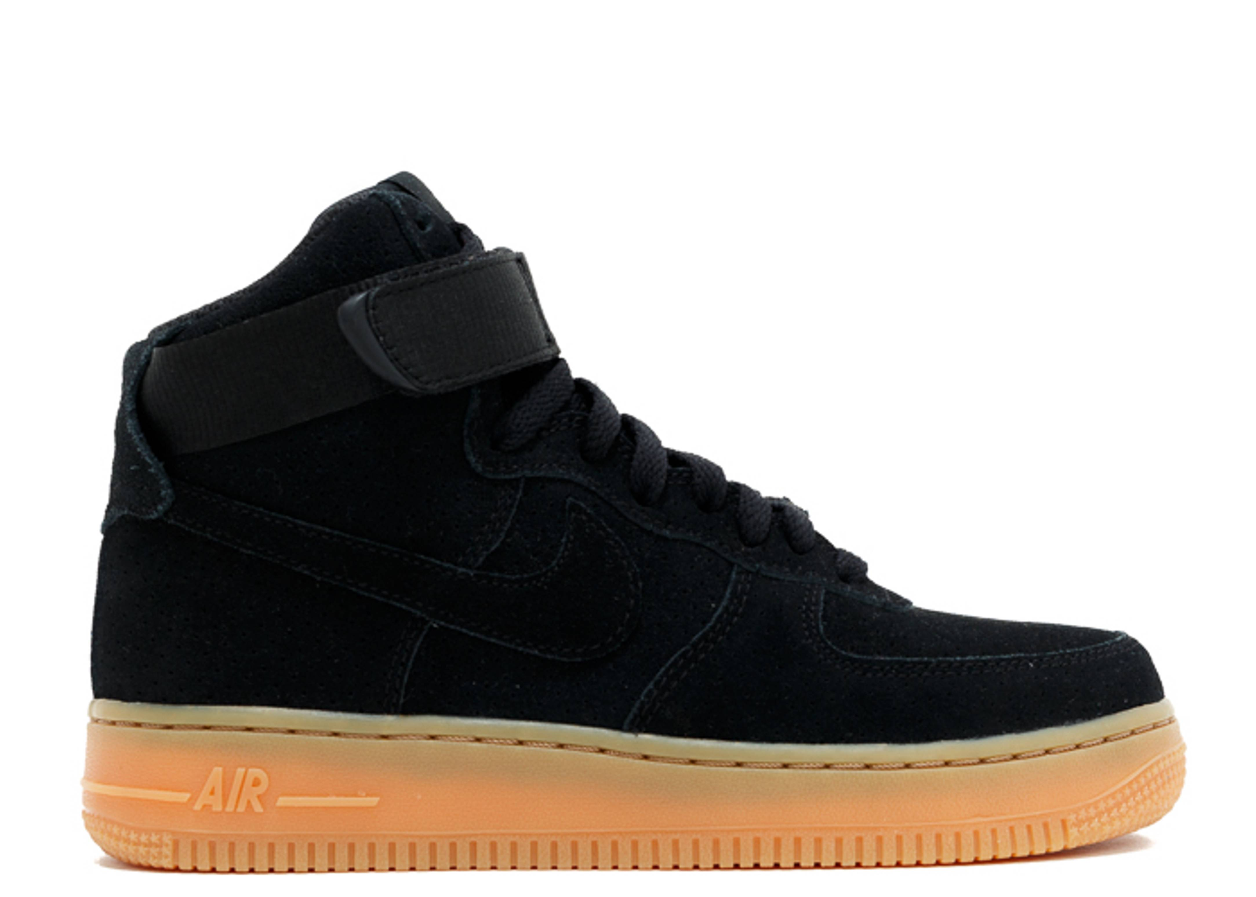 suede air force 1s
