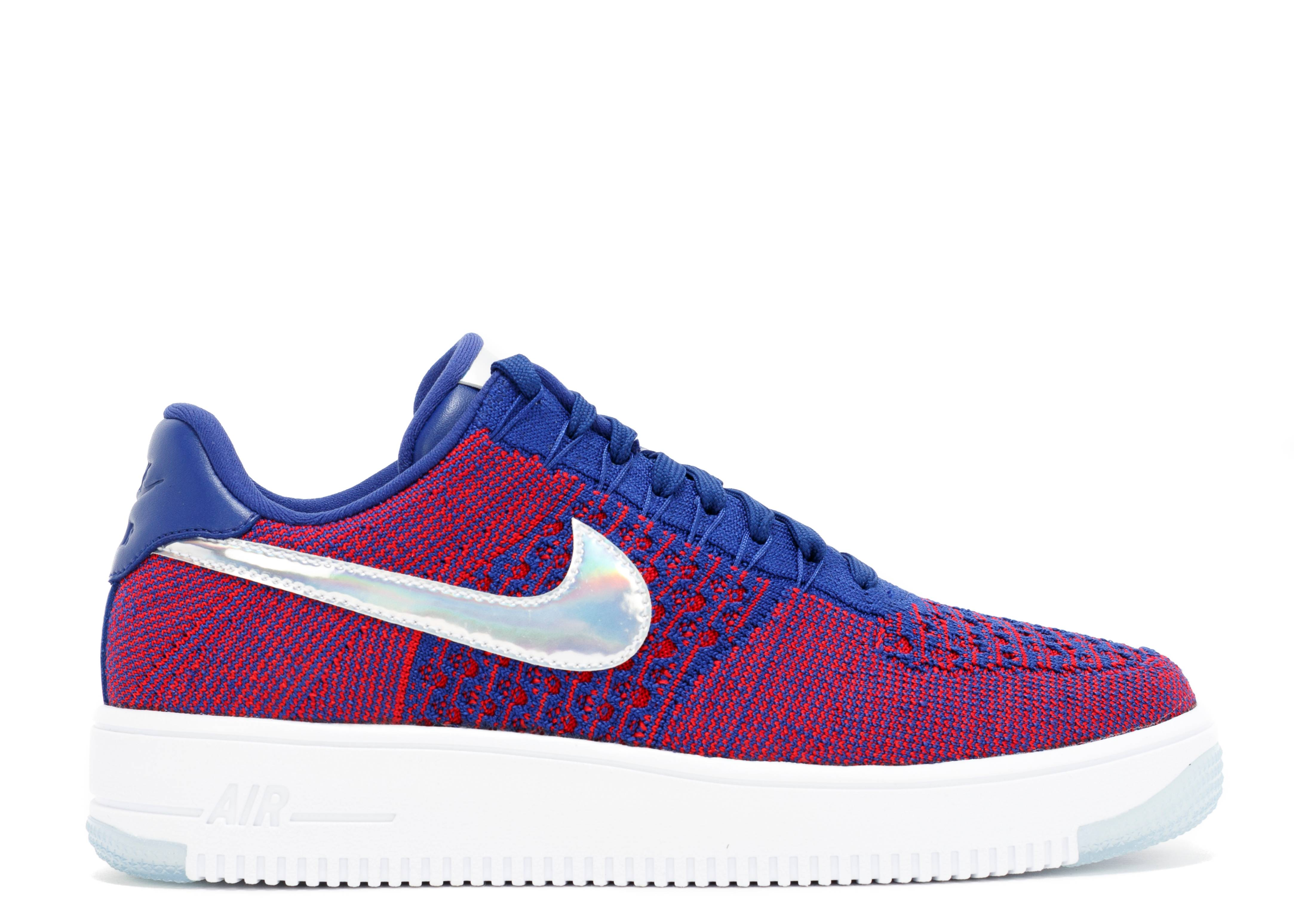 men's nike air force 1 flyknit multicolor racer 2016 olympics