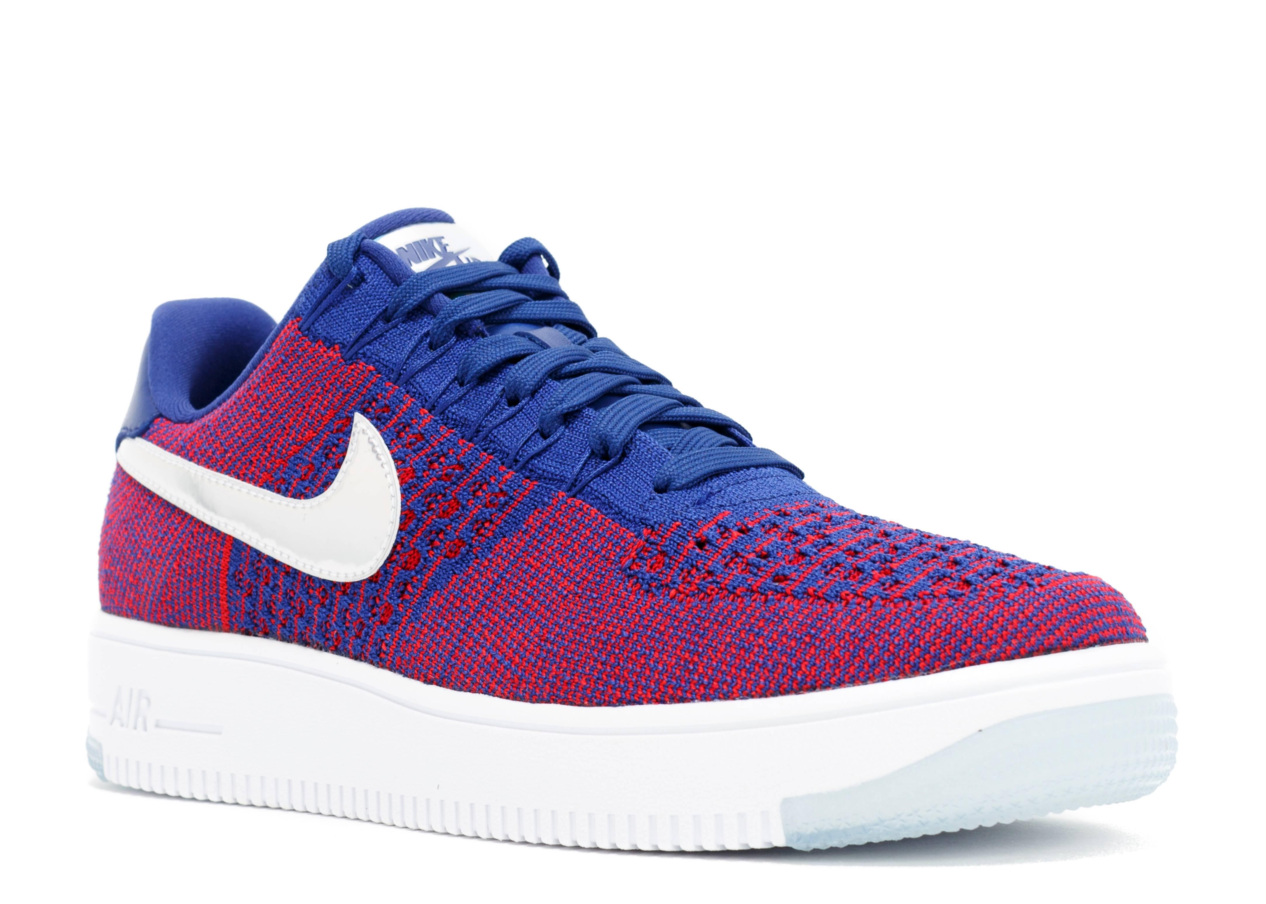 "Af1 Ultra Flyknit Low Prm ""olympic"" - Nike - 826577 601 ..."