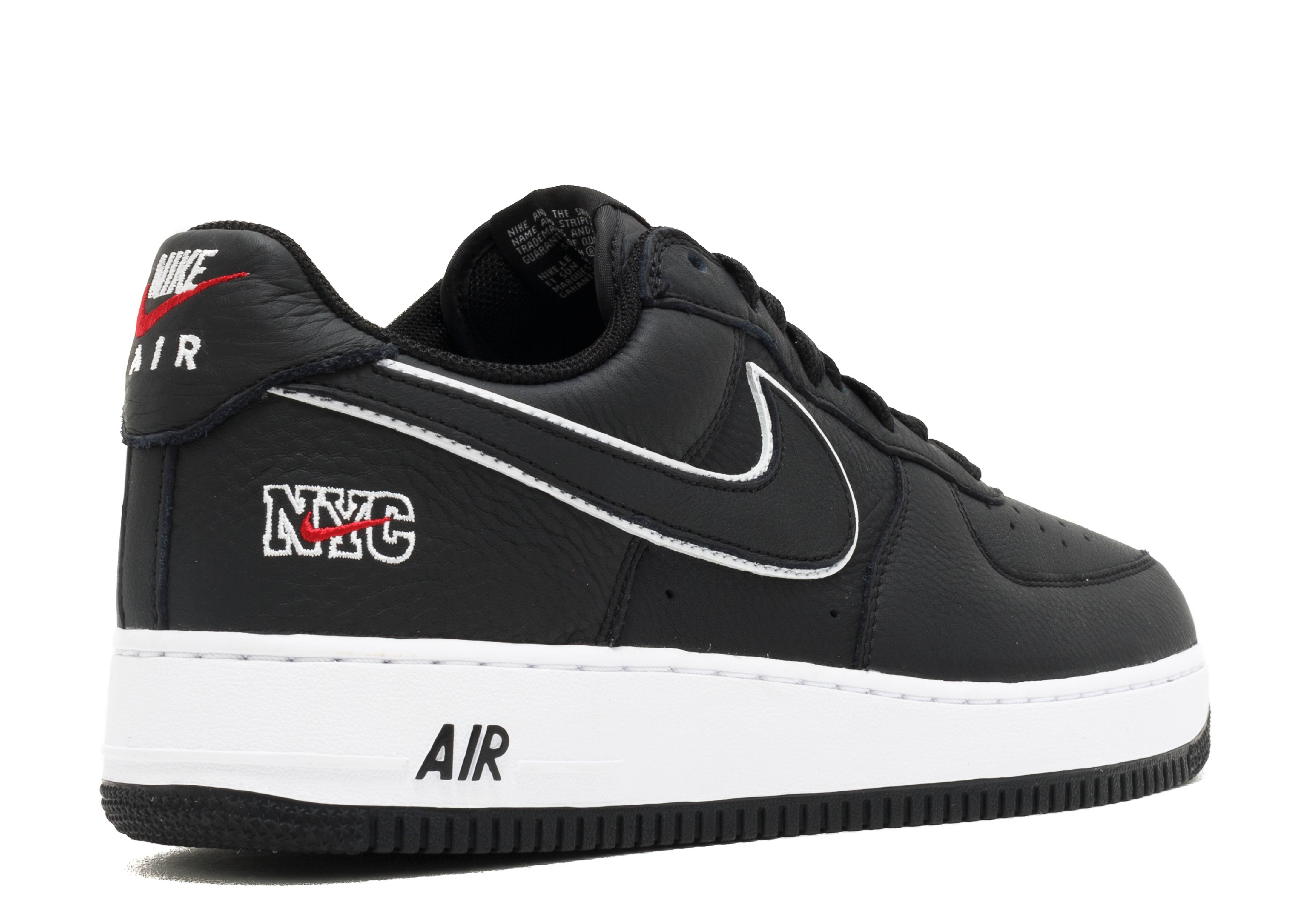 white and black air force 1