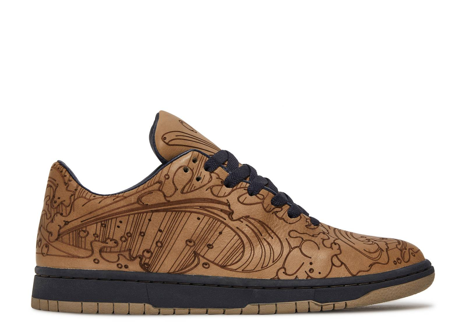 "dunk low by chris lundy ""laser"""