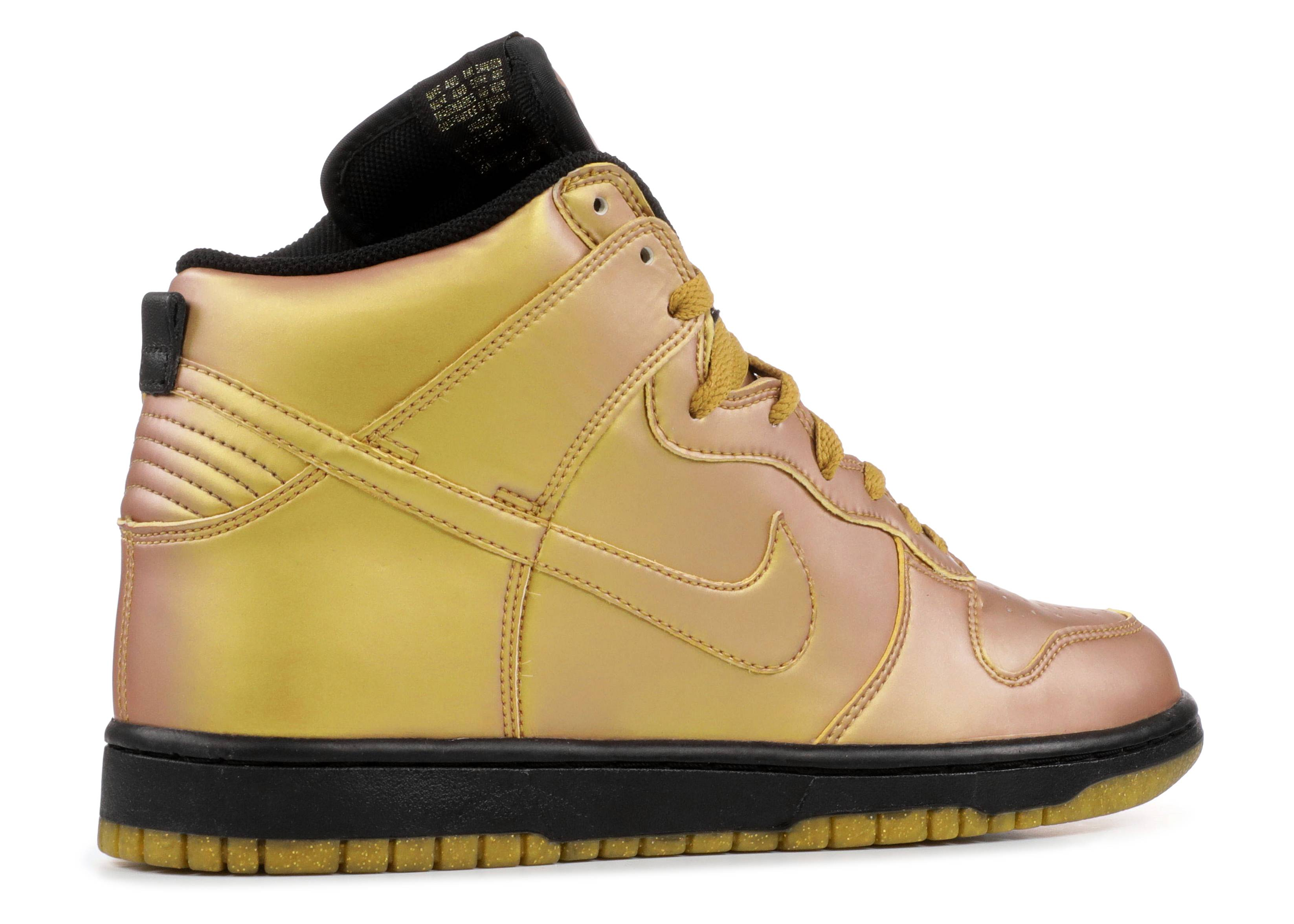 45636986198 nike dunk bison black and gold