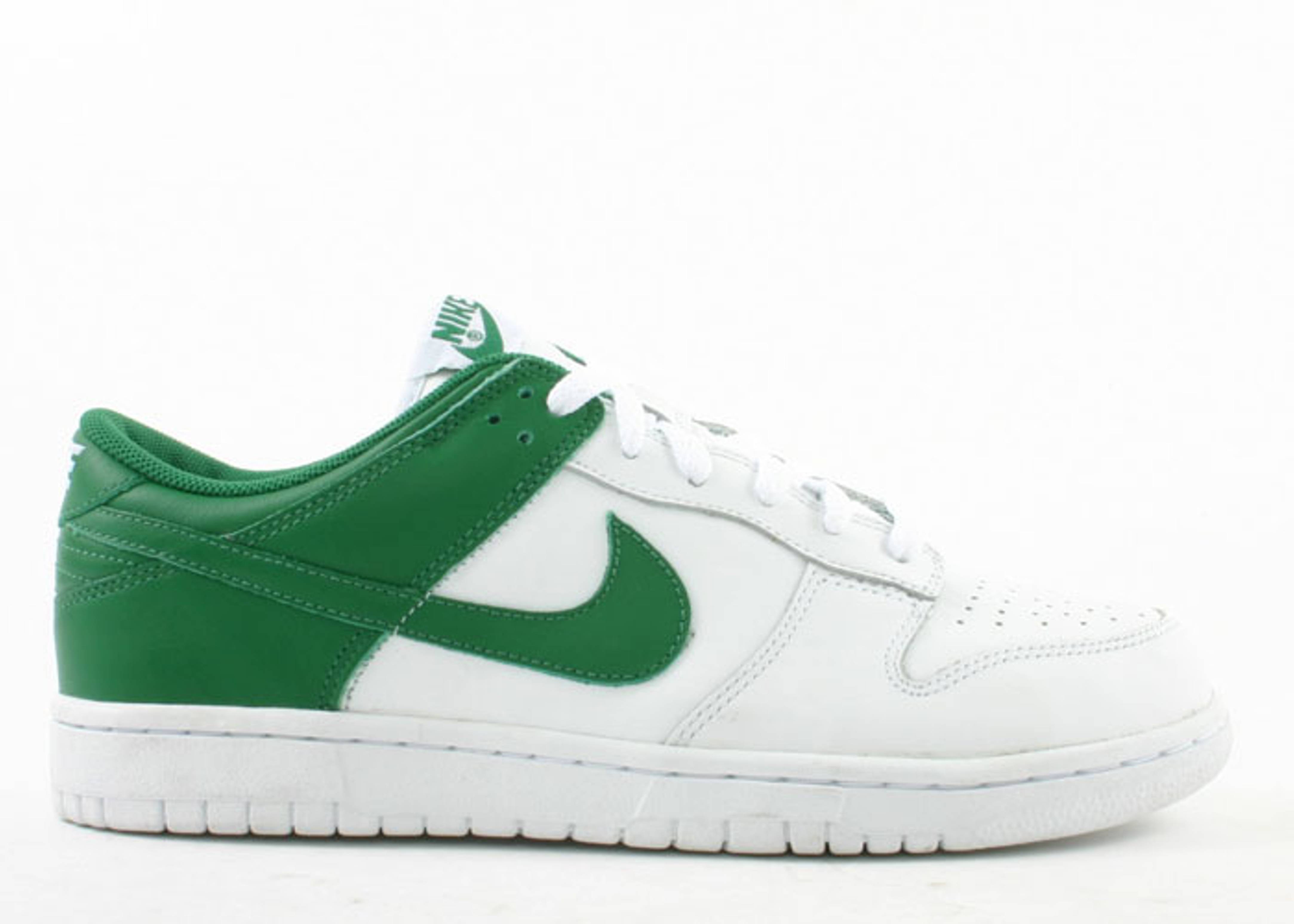 dunk low leather
