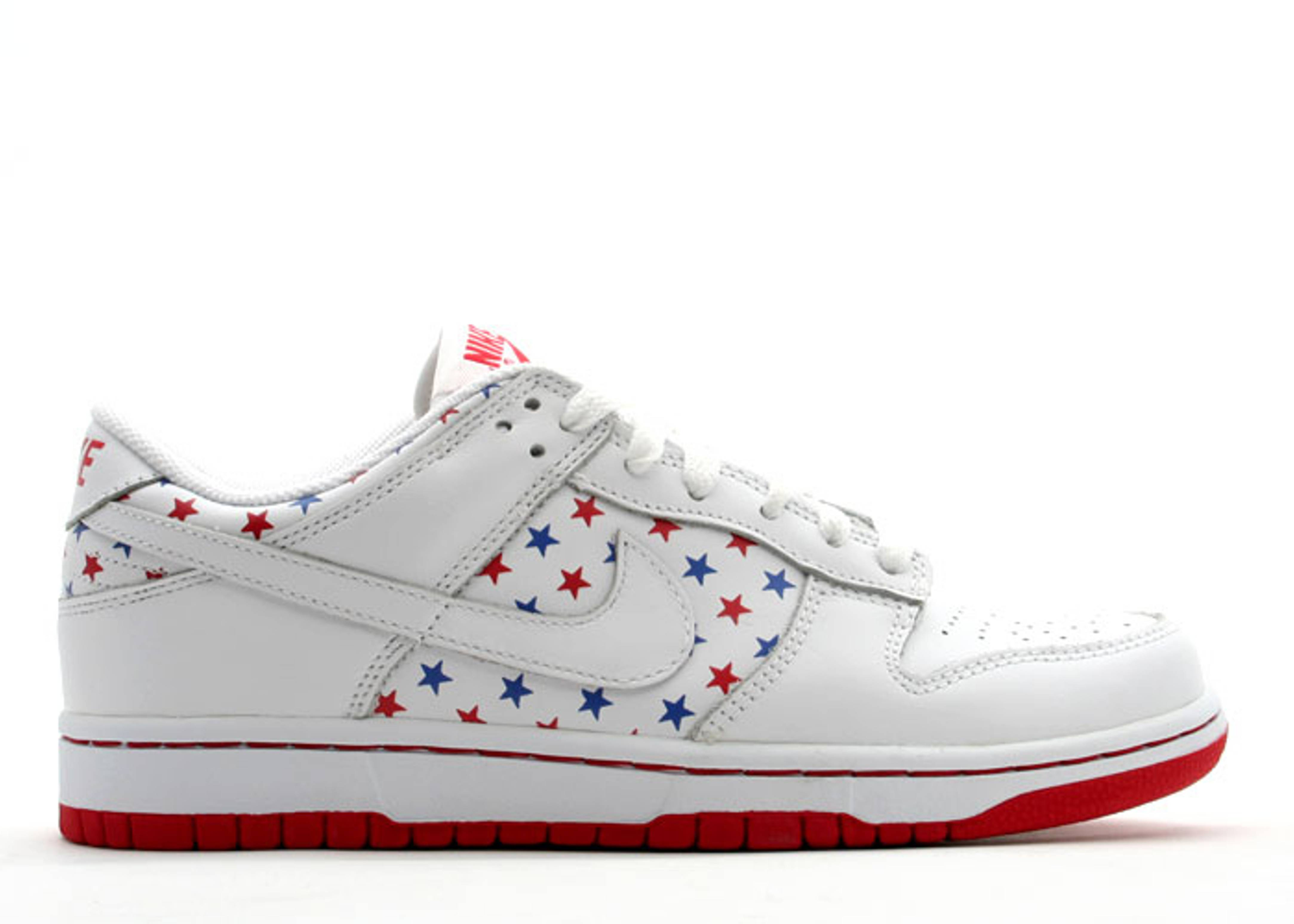 """womens dunk low """"4th of july"""""""