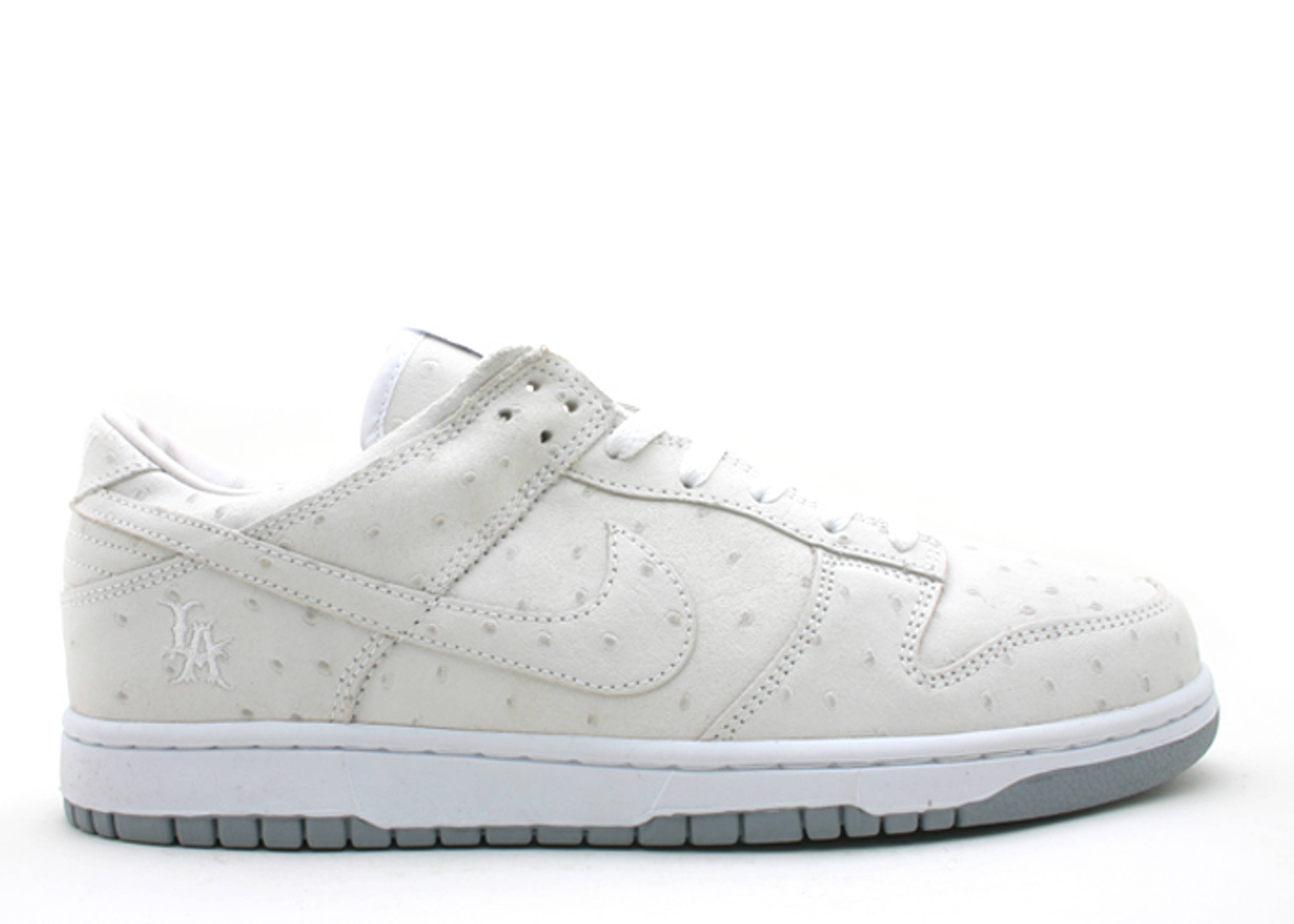 "dunk low id la ""white dunk"""