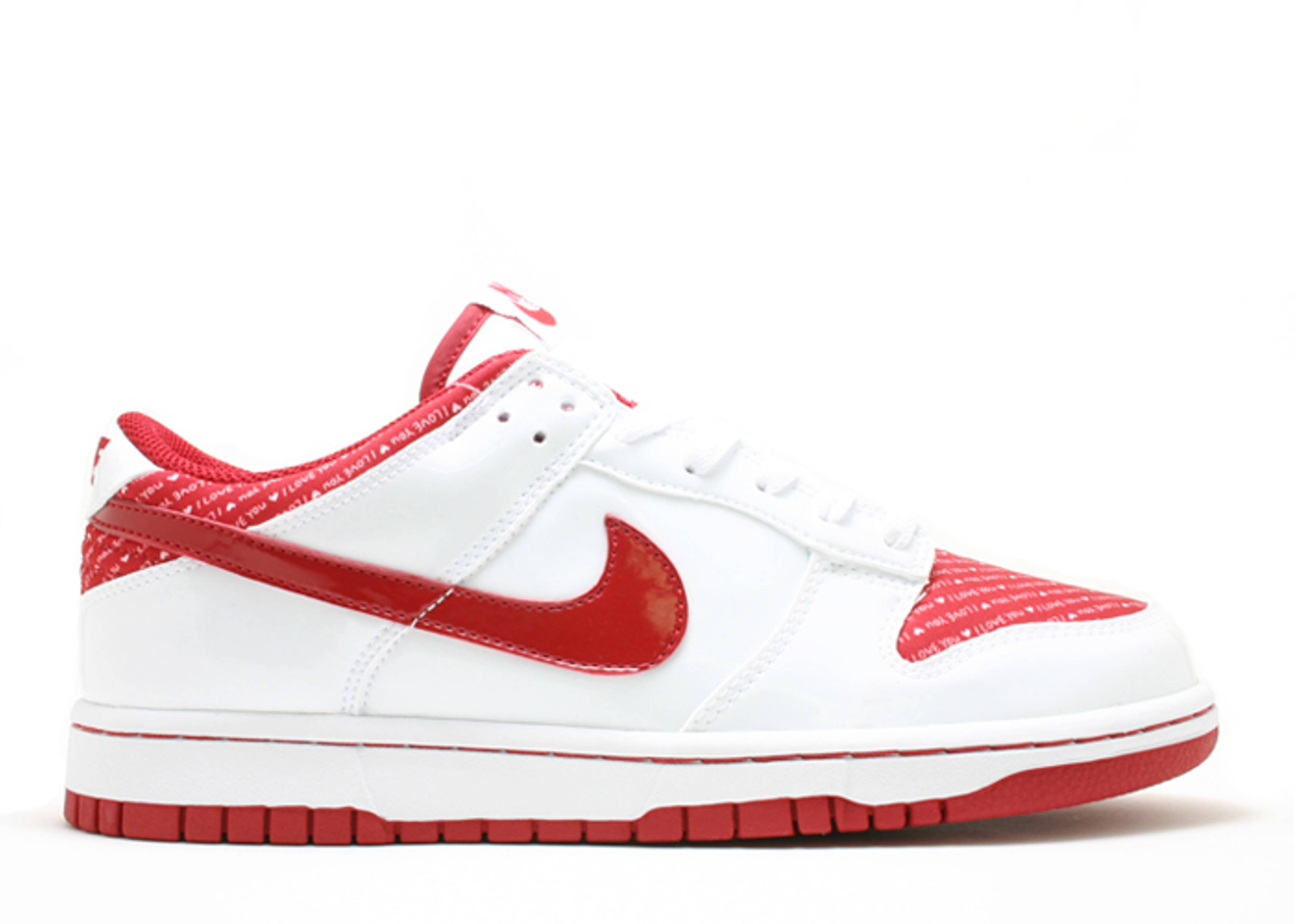 "w's dunk low ""valentines day"""