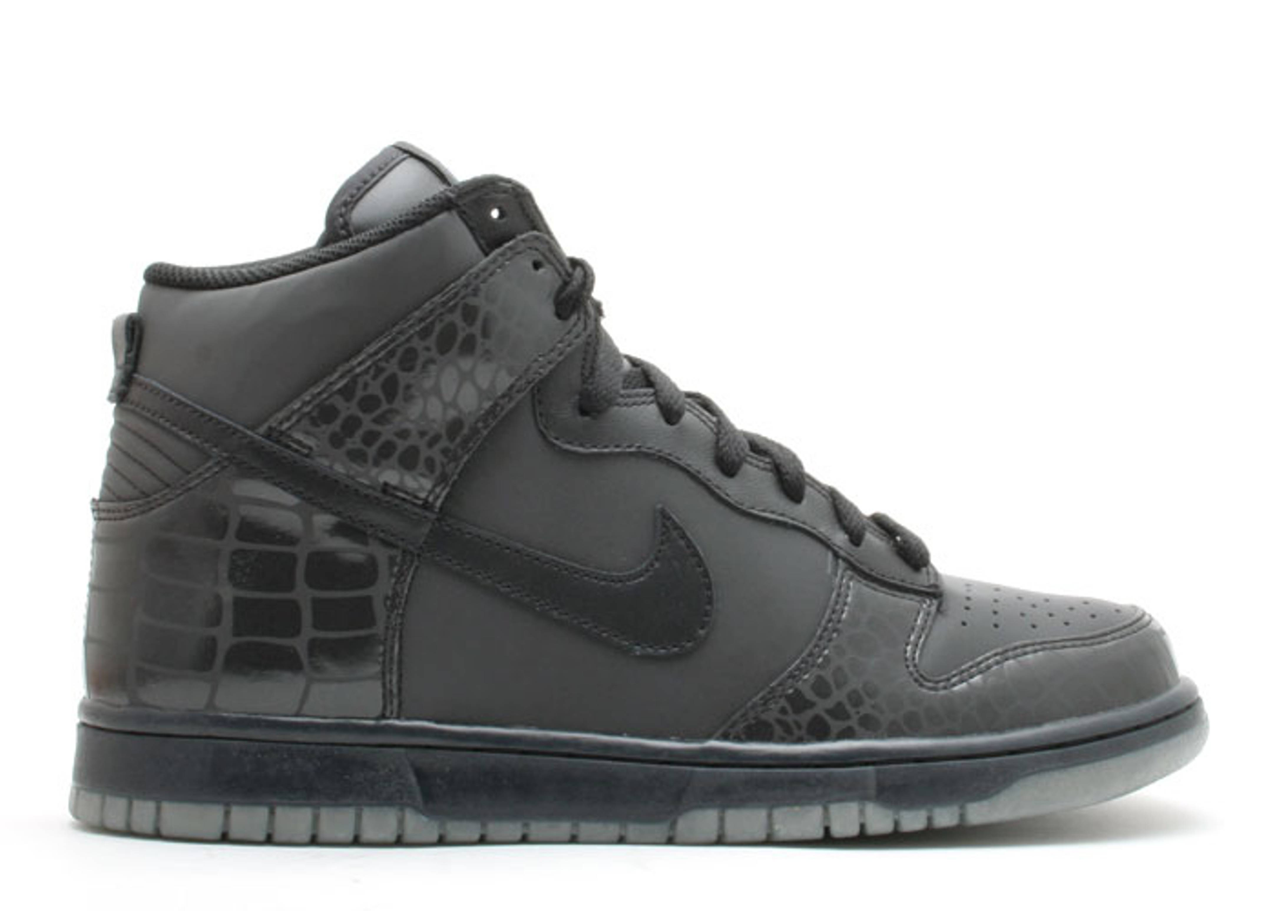 "dunk high ""reflector croc"""