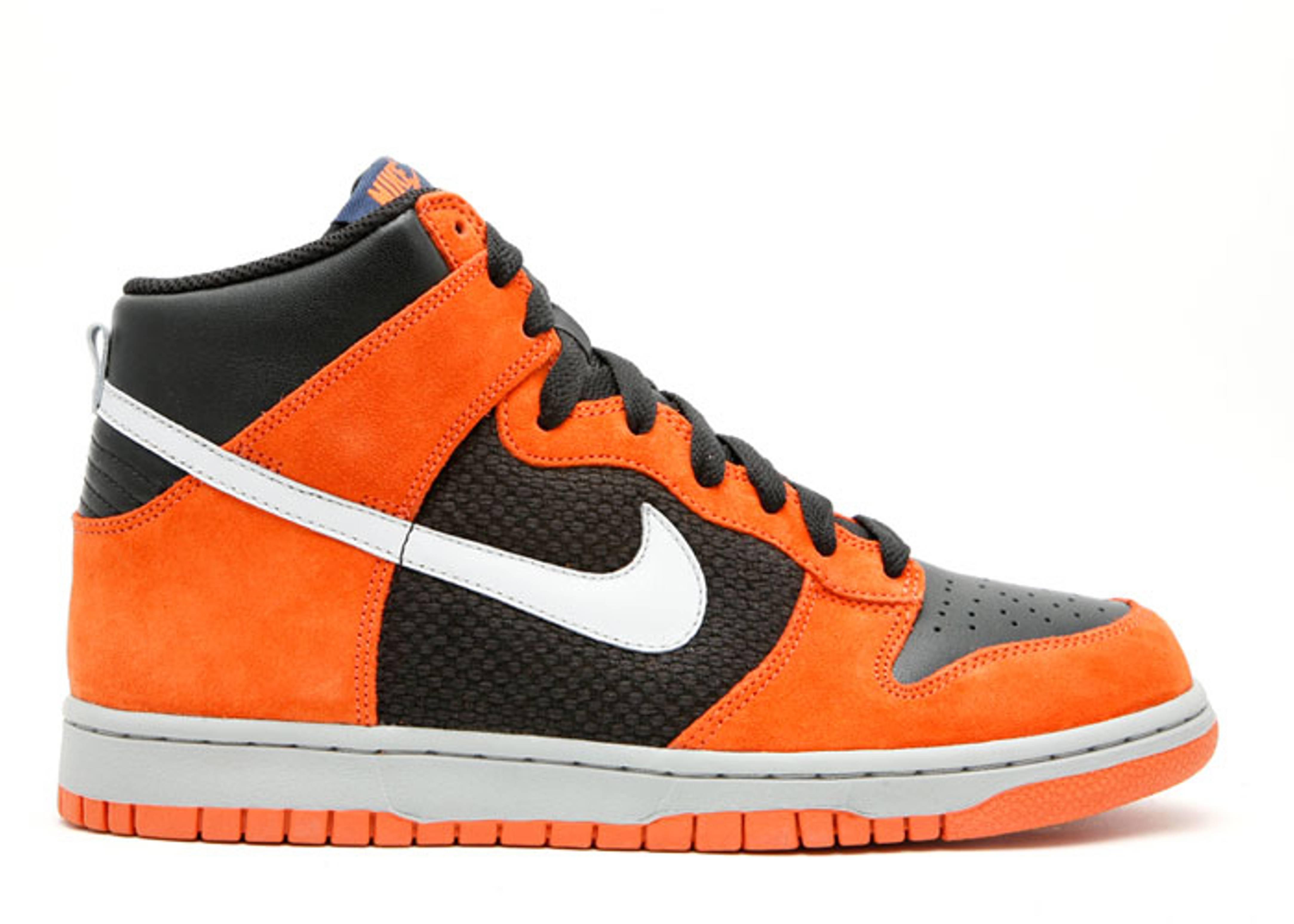 sneakers for cheap a81a7 0d5d2 Dunk High - Nike - 317982 001 - blackneutral grey-hoop orange  Flight Club