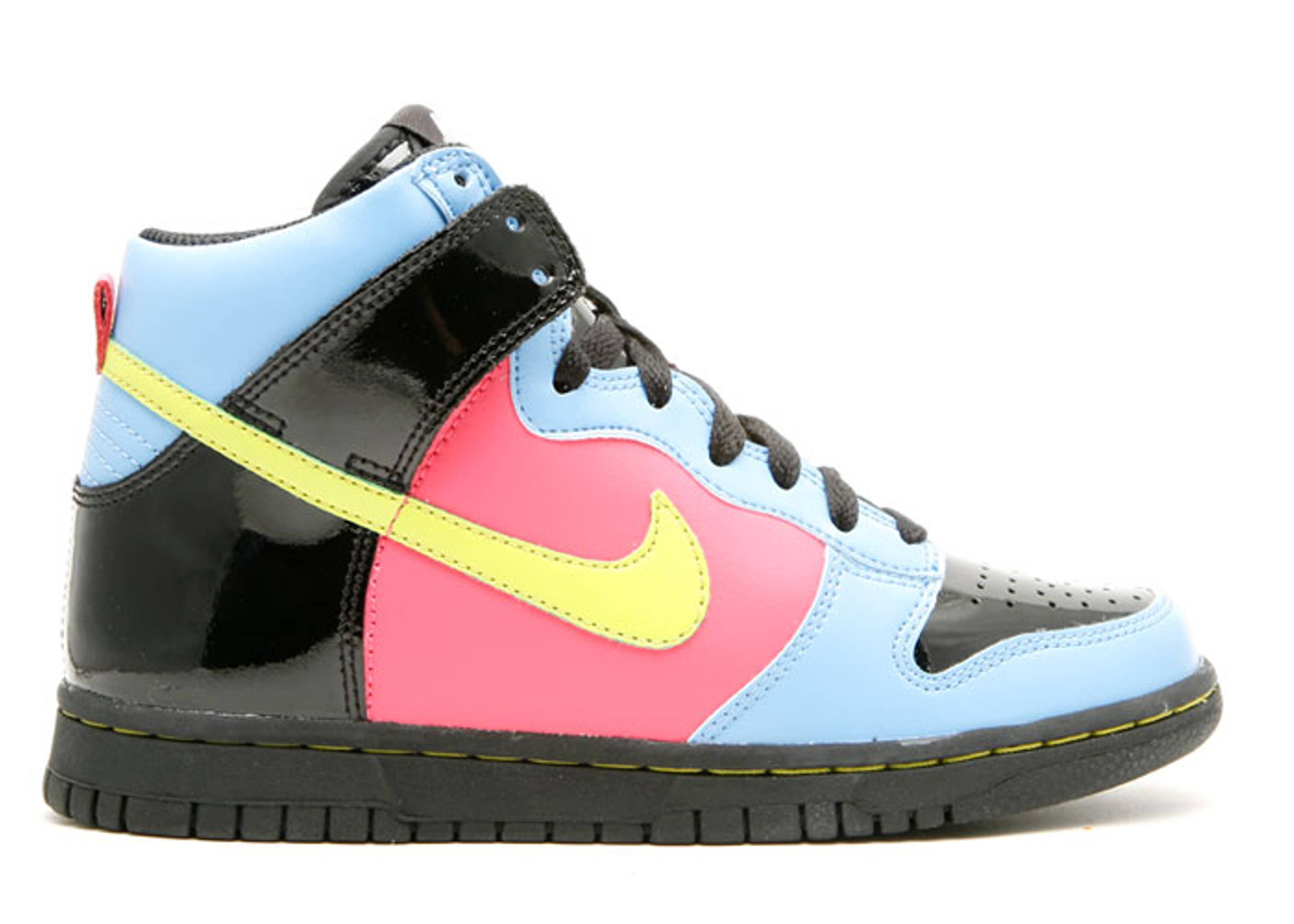 new styles 8f08d 3df4a ... low price dunk high gs nike 308319 033 black bright cactus university  blue flamingo flight club