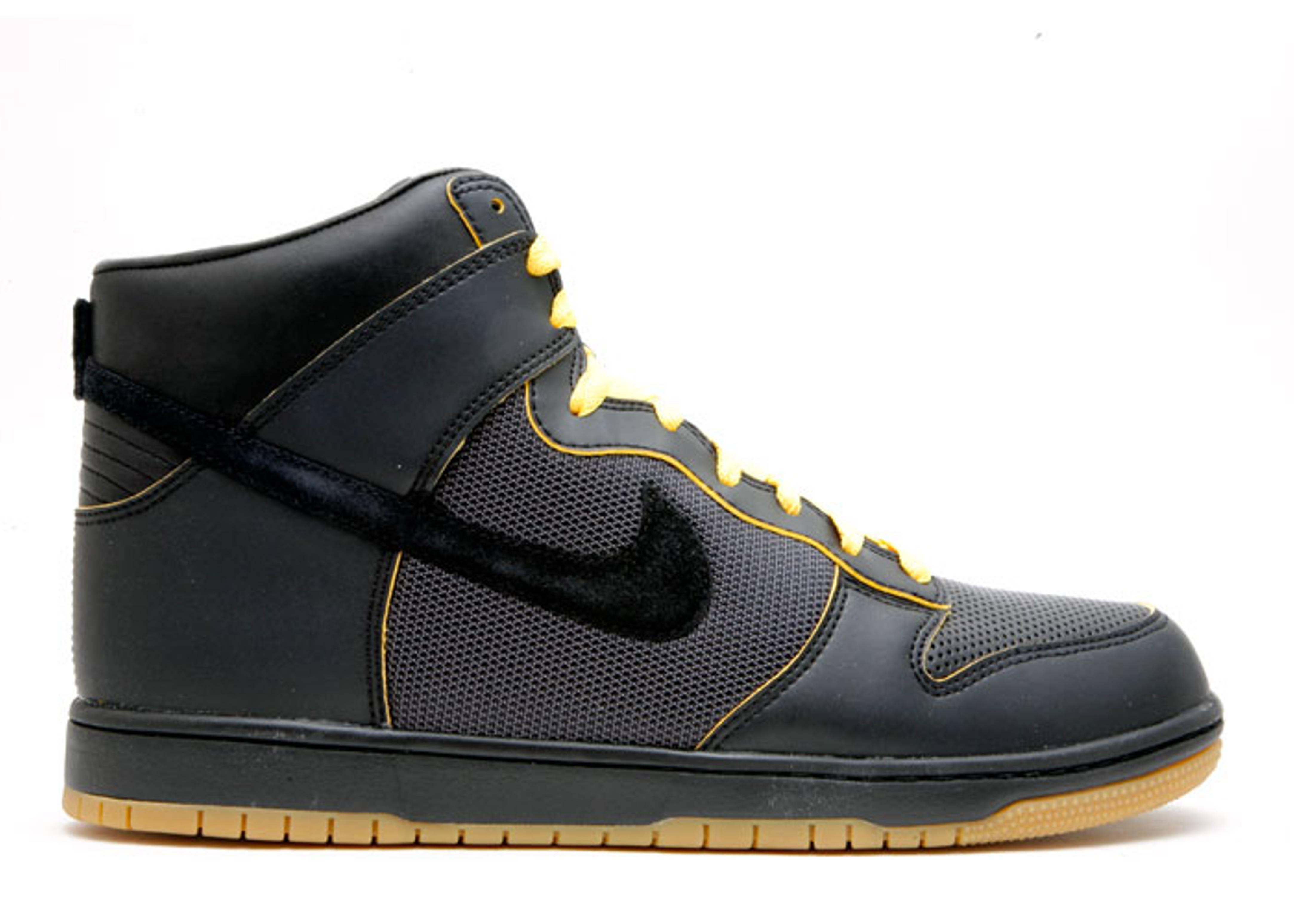 Dunk High Supreme 'Paris' - Nike - 321762 005 - black/black ...