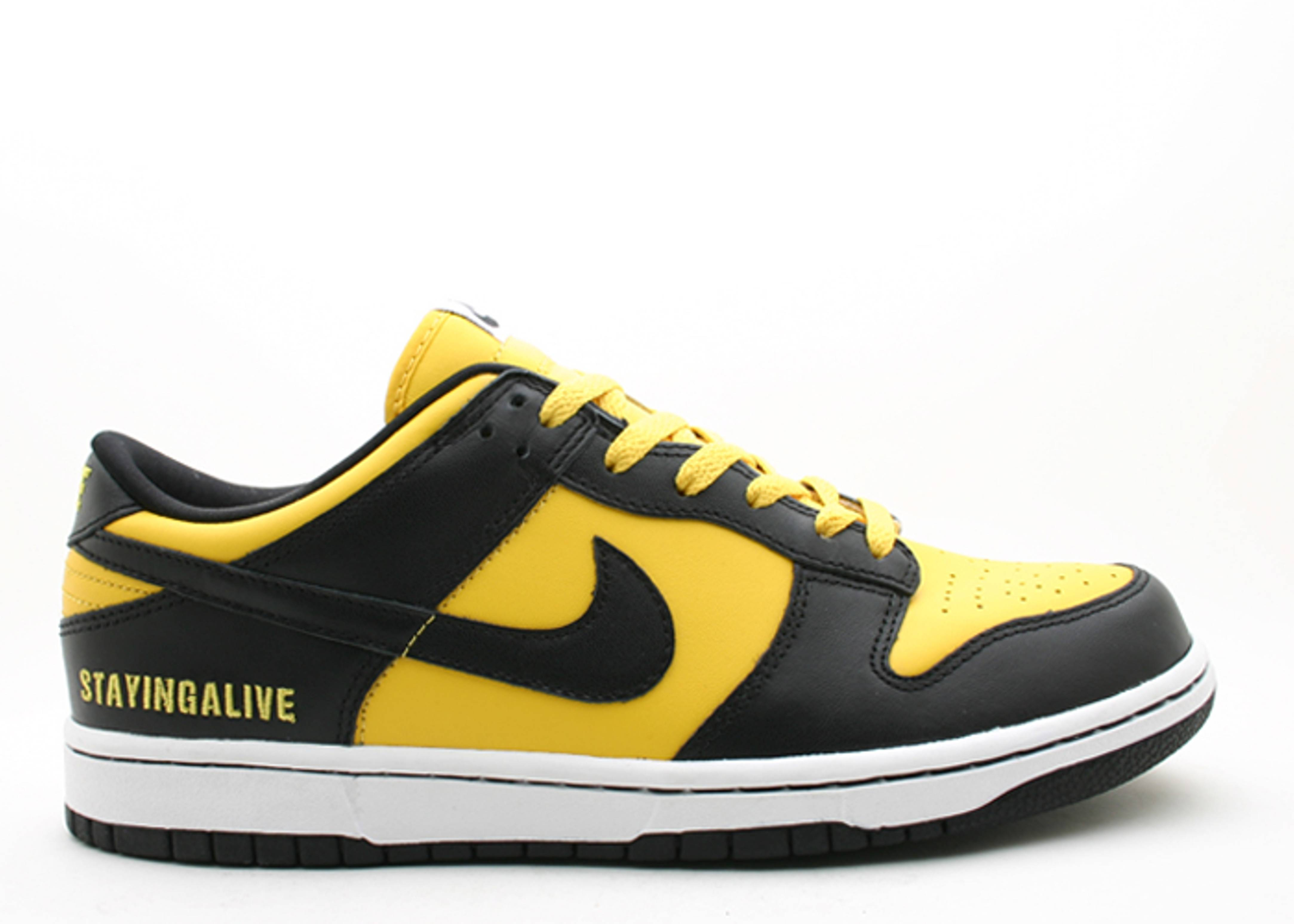 "dunk low id ""staying alive"""