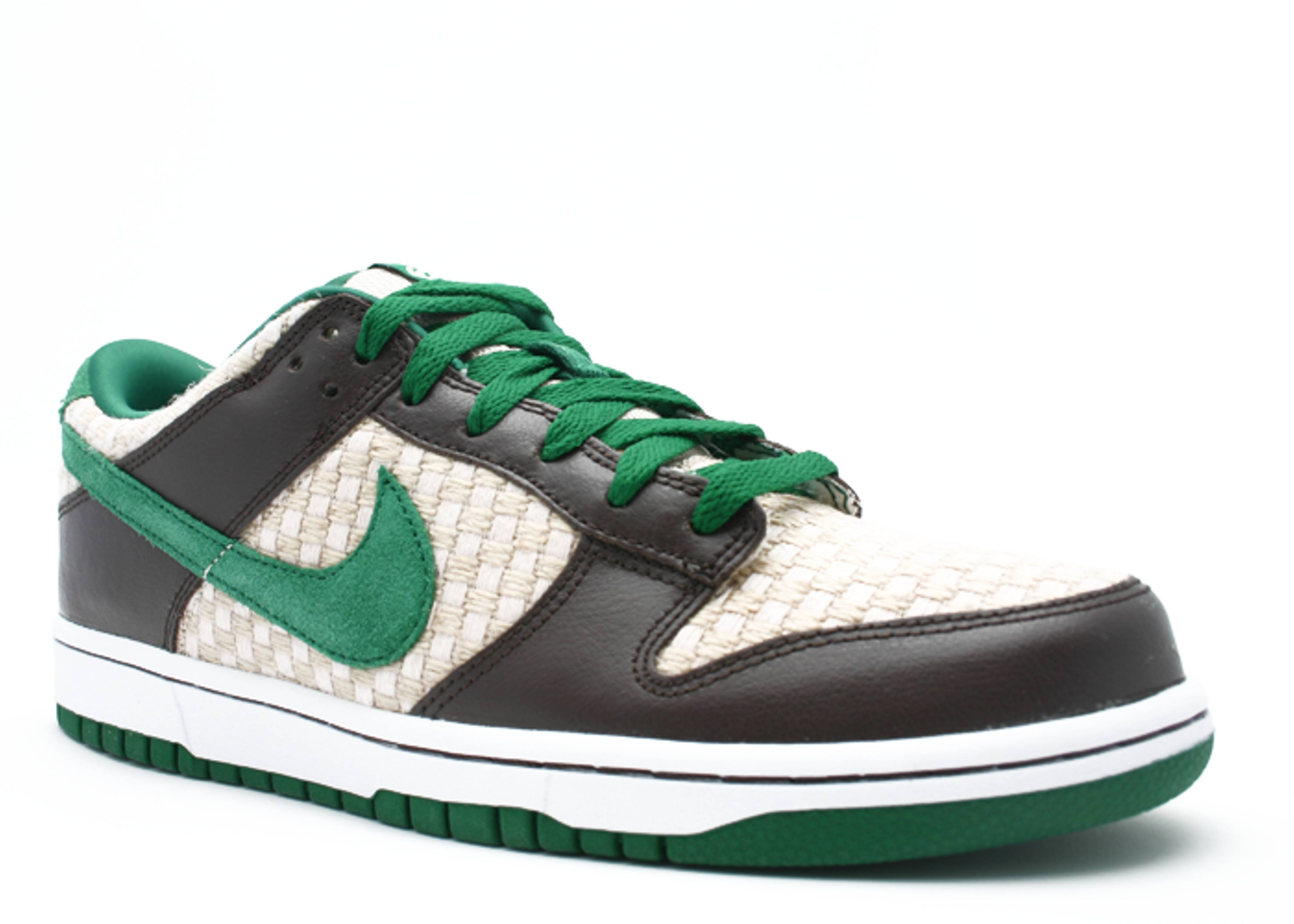 new styles f9267 5be9b Dunk Low 6.0 - Nike - 314142 331 - overcast/pine green ...