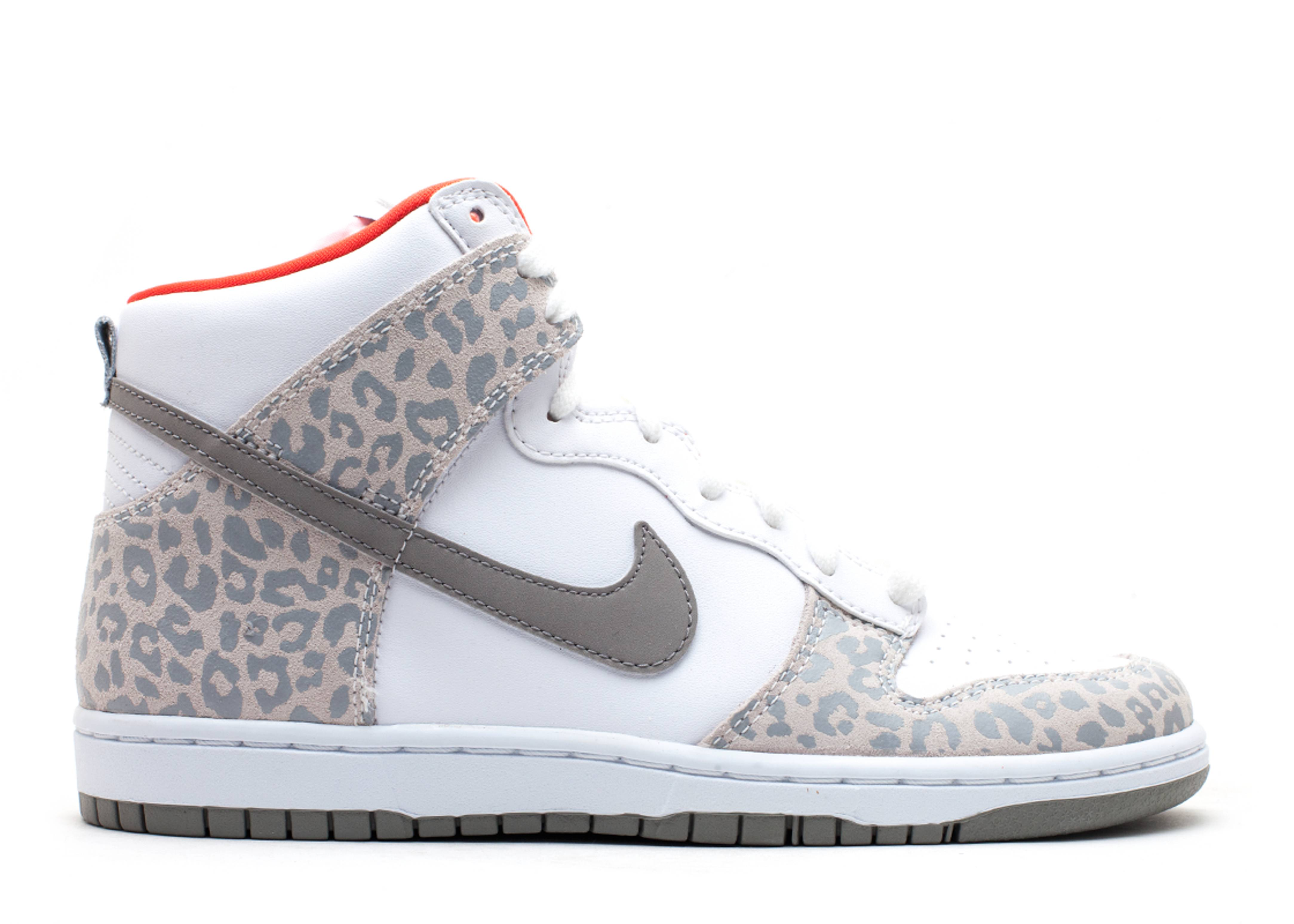 "w's dunk high skinny ""leopard"""