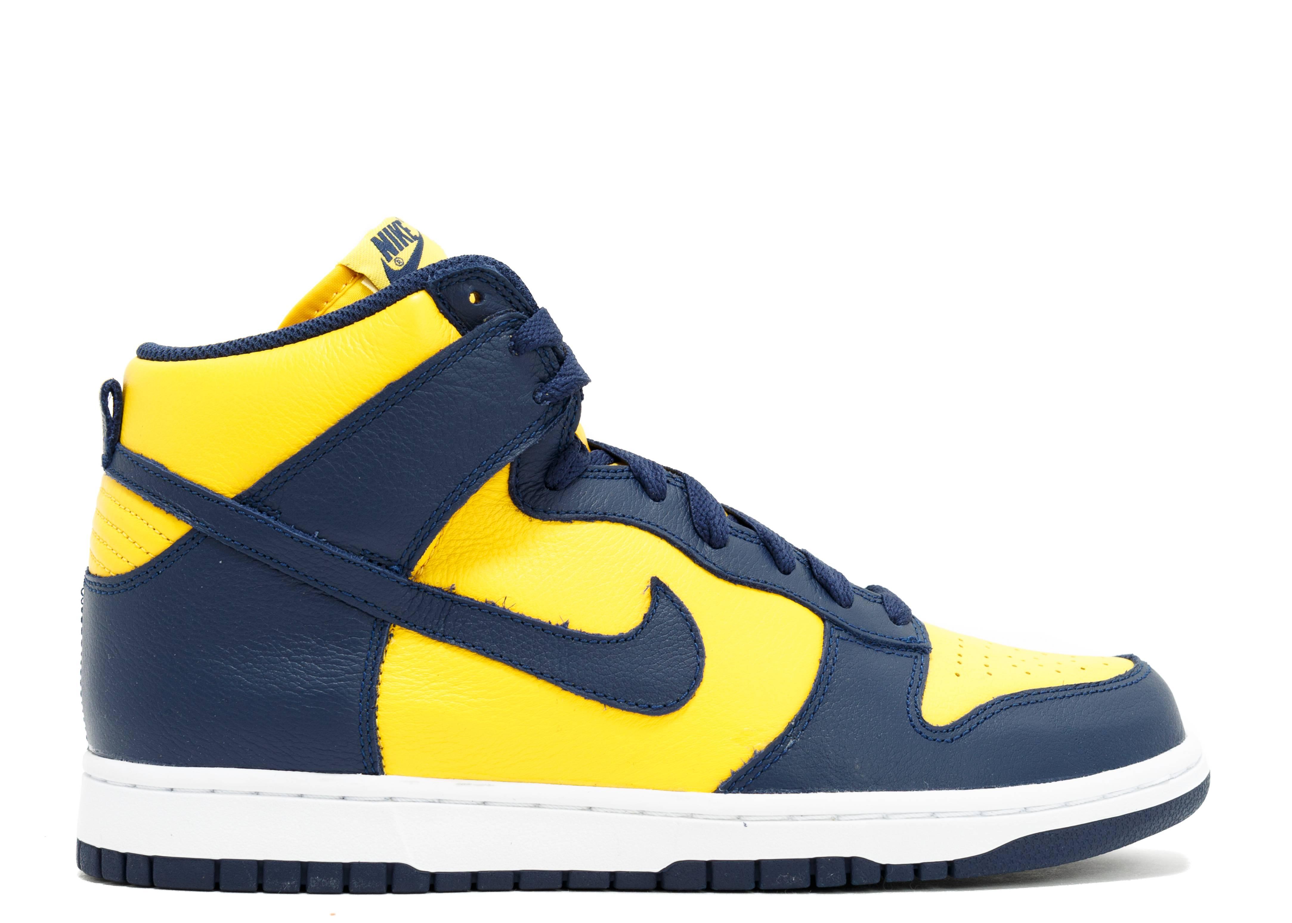 Nike Womens Shoes - Nike Dunk Retro QS Varsity Maize/Midnight Navy X32z7702