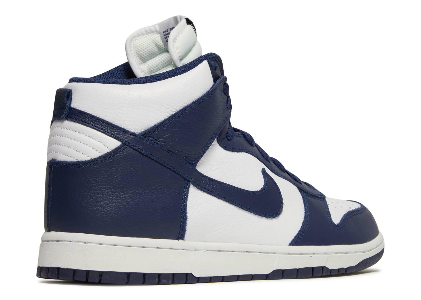 separation shoes 4788a f36a4 ... promo code dunk retro qs be true villanova nike 850477 103 white  midnight navy flight club