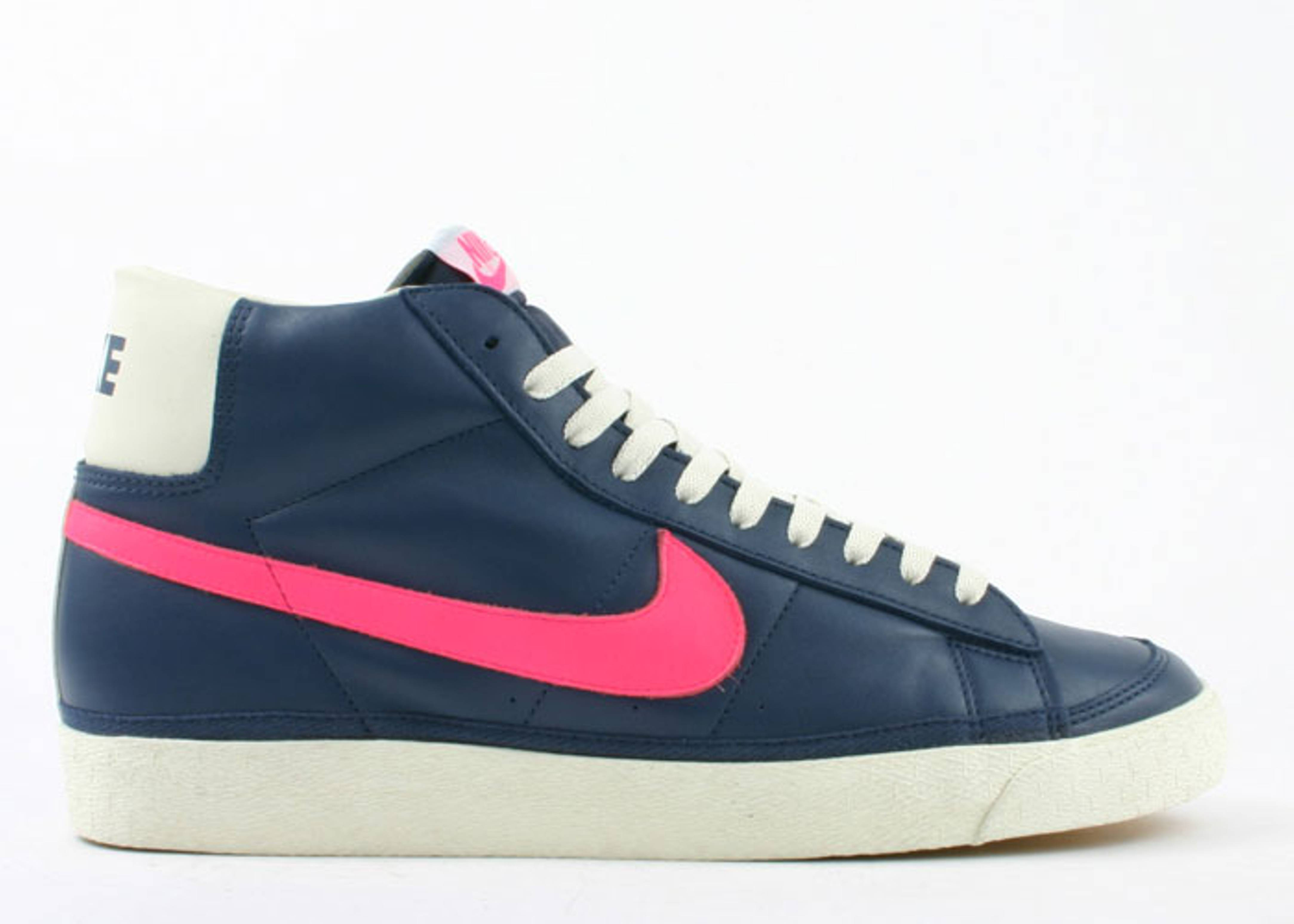 Avanzado Autorizar Encogimiento  Stussy X Blazer Mid - Nike - 124006 461 - midnight navy/turbo pink-ivory |  Flight Club