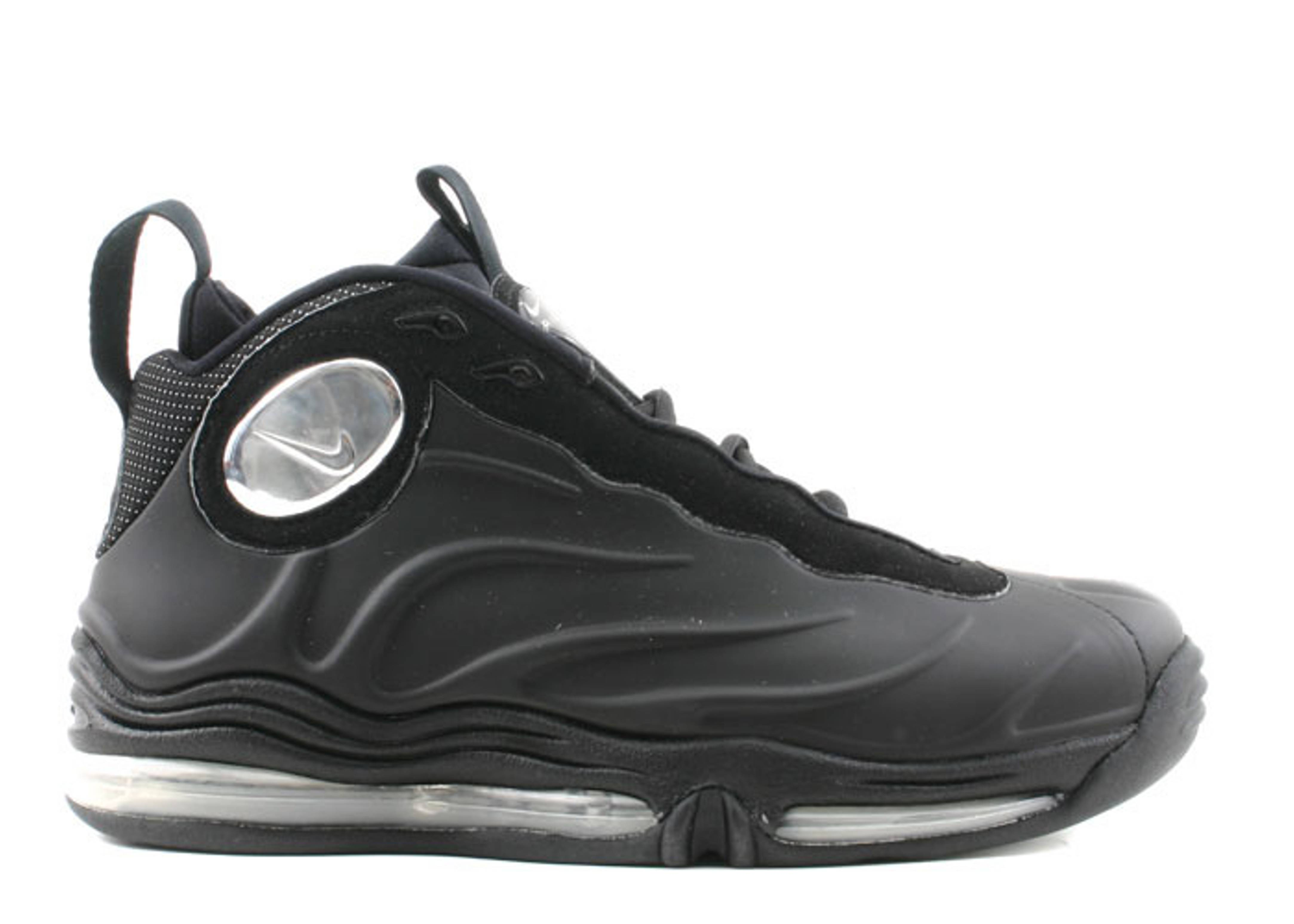 premium selection 46555 bf057 Total Air Foamposite Max - Nike - 307717 001 - black metallic silver-black    Flight Club