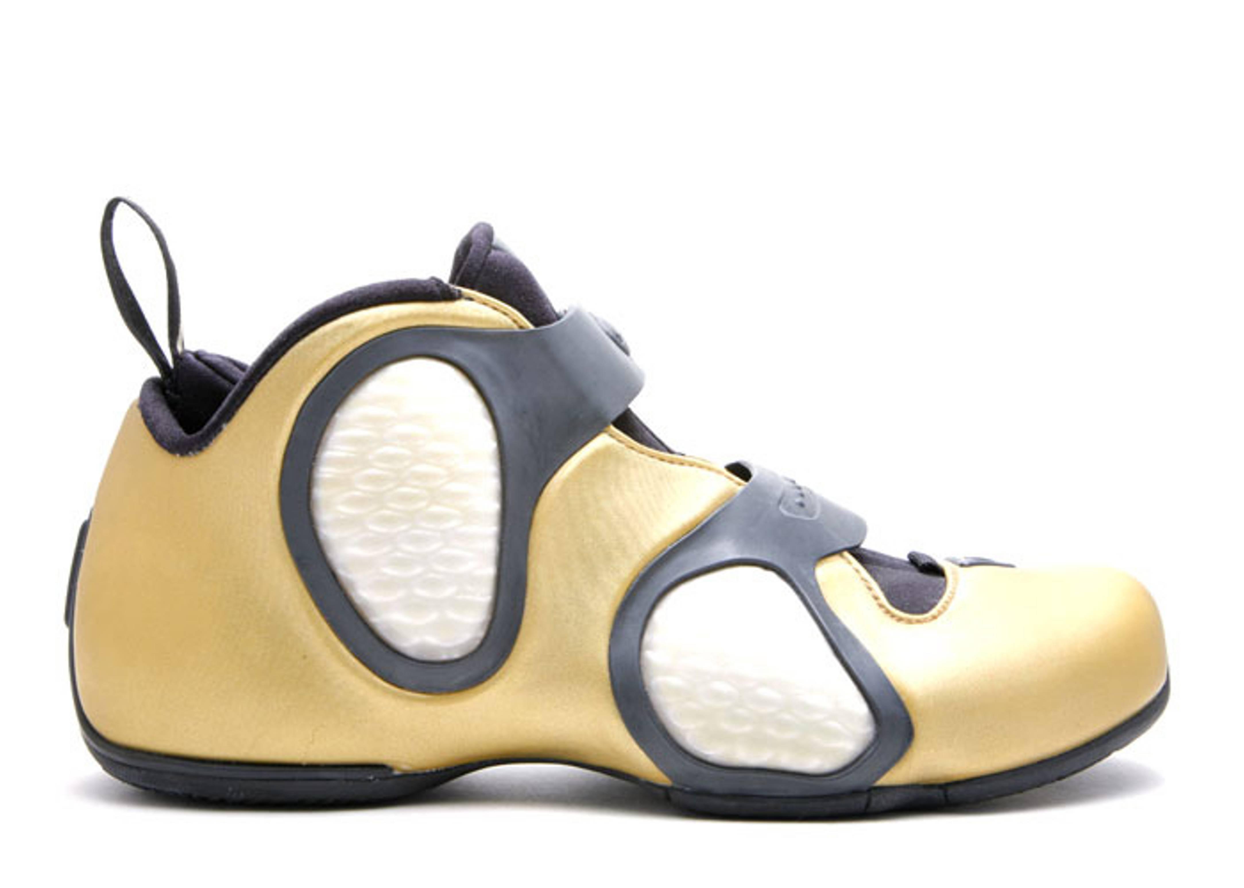 f188997034c4 Air Flightposite 3 Bg - Nike - 304515 701 - metallic gold black ...