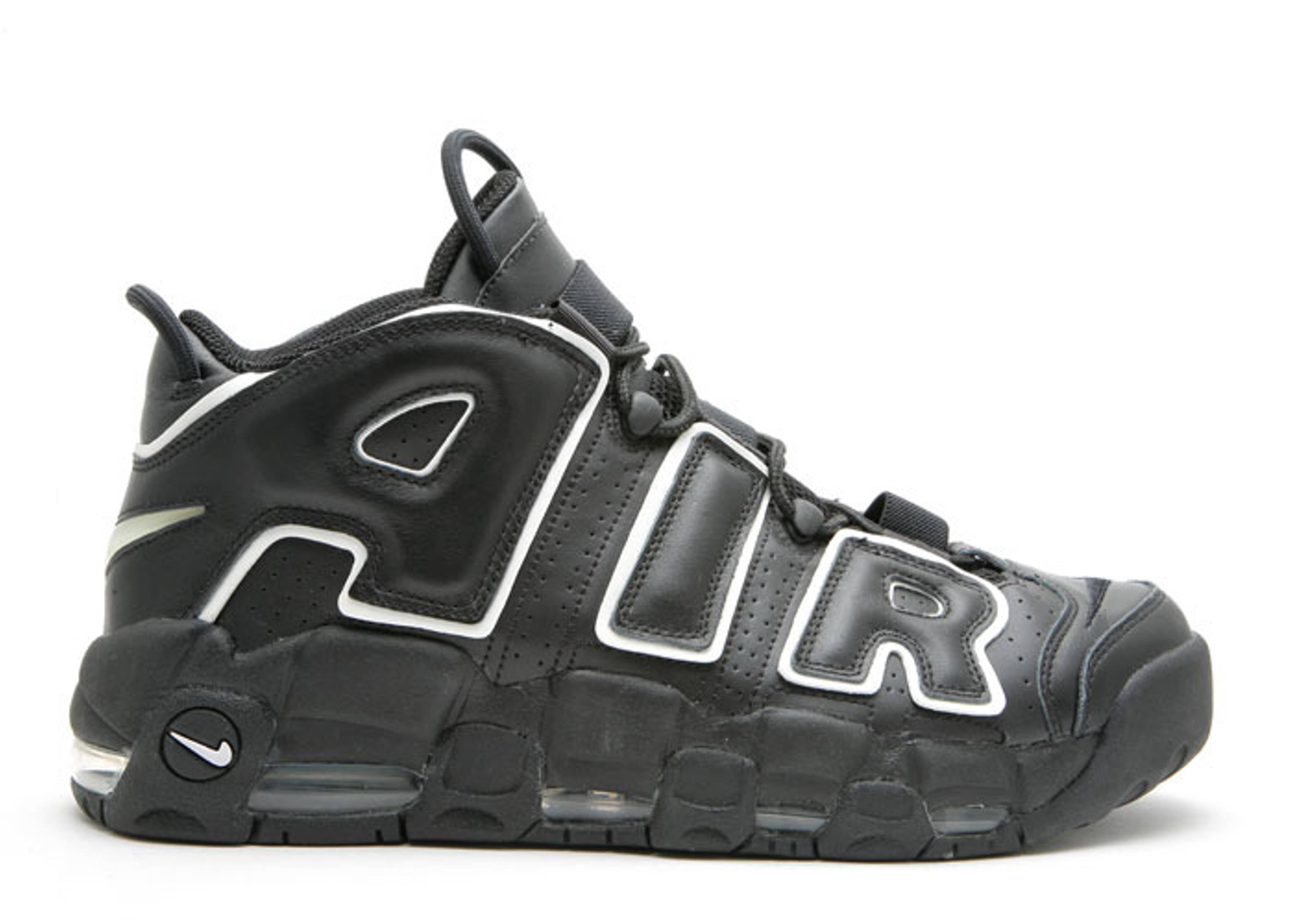 "air more uptempo ""Black White"""