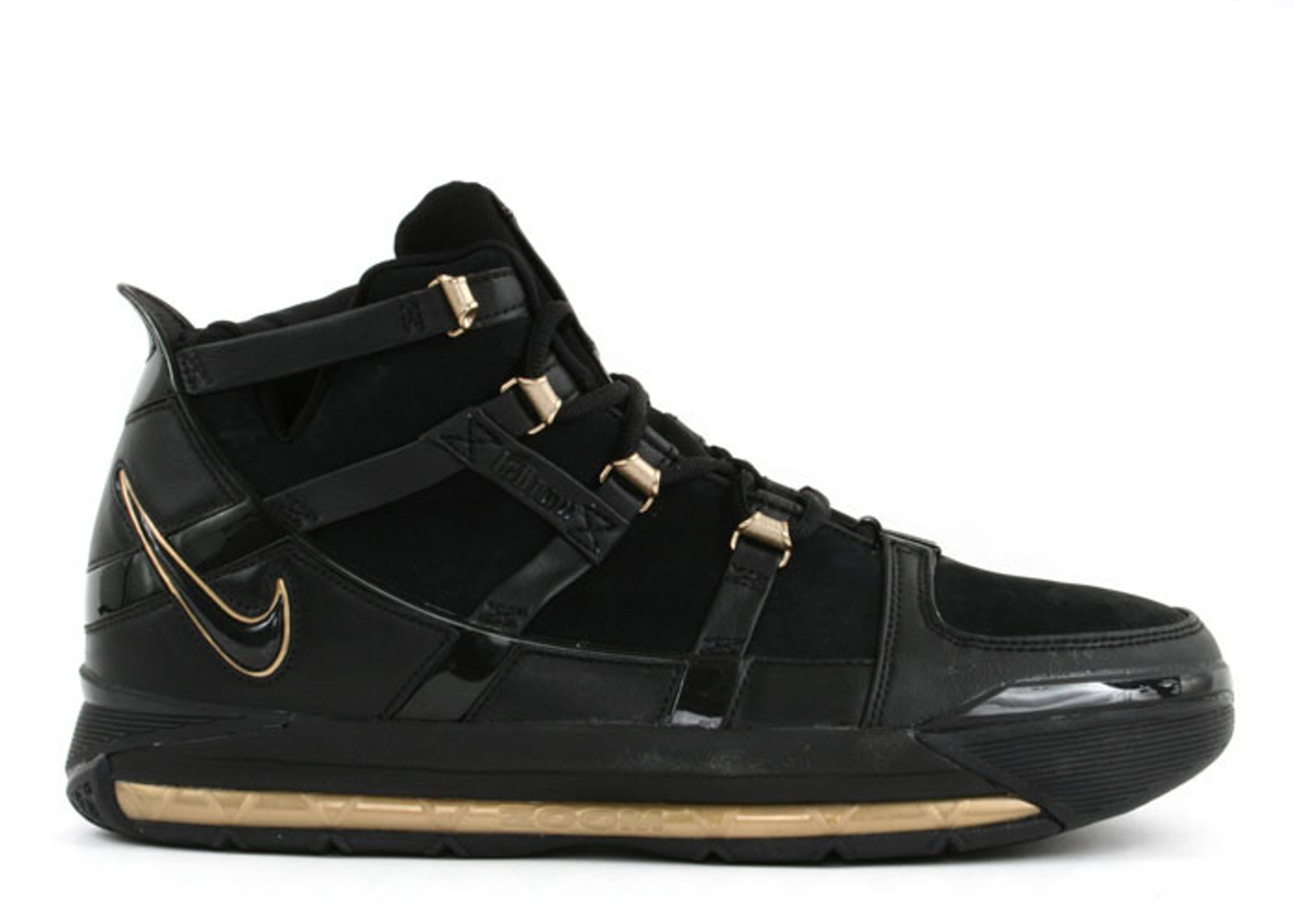 Black And Gold Mens Basketball Shoes