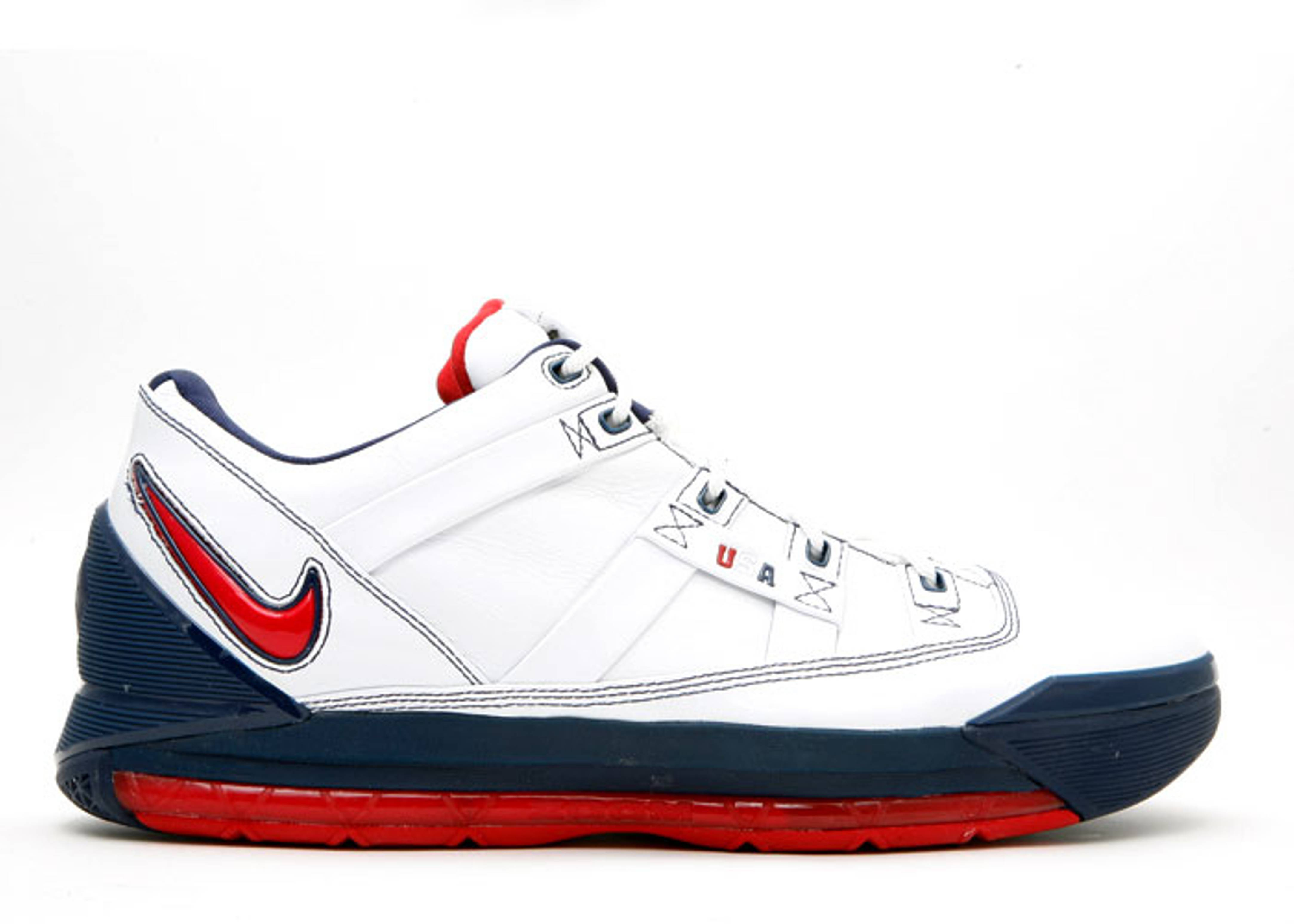 "zoom lebron 3 low ""usa olympic"""