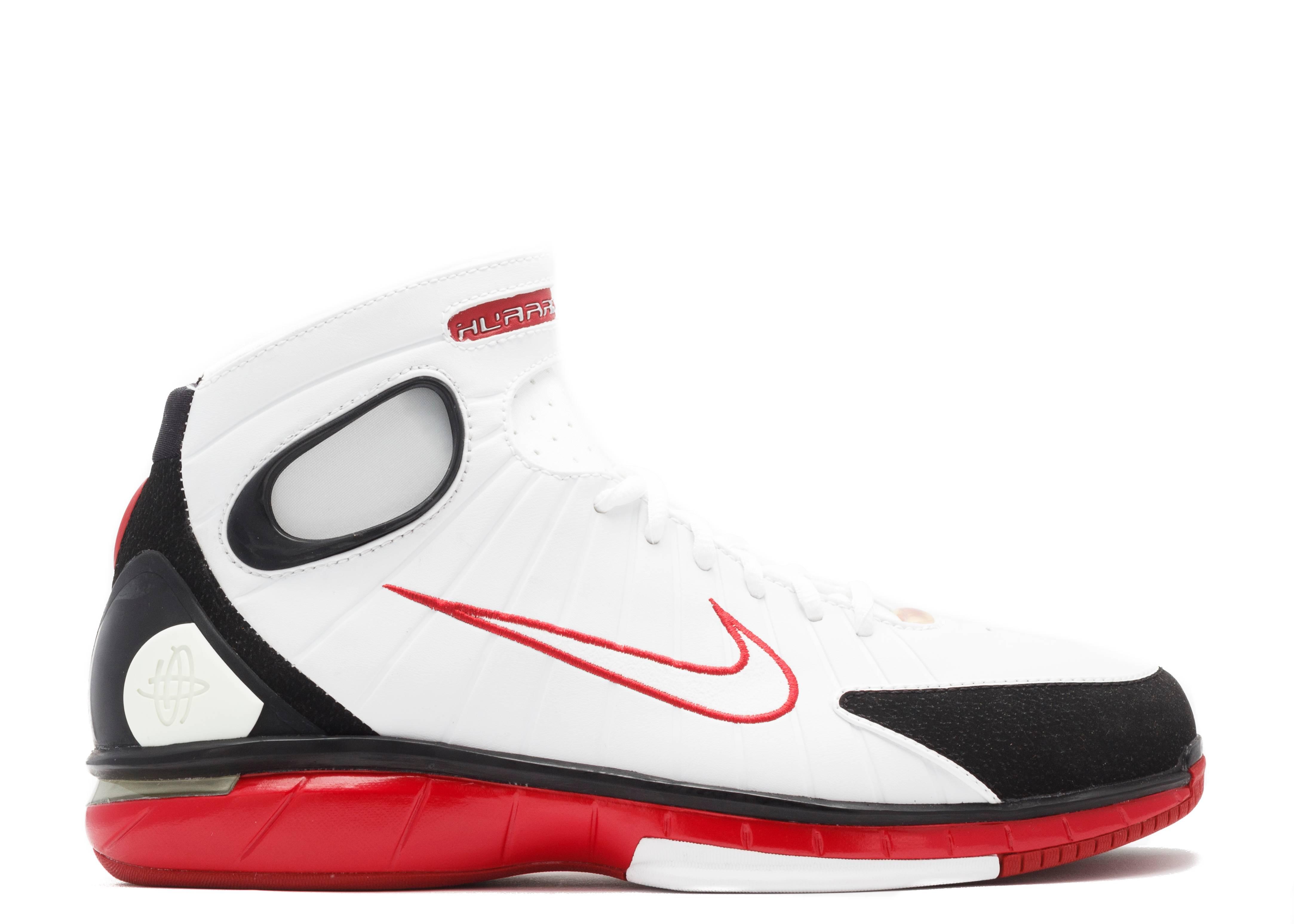 new arrival c86f5 ea854 Air Zoom Huarache 2k4 - Nike - 308475 111 - white white-varsity red-black    Flight Club