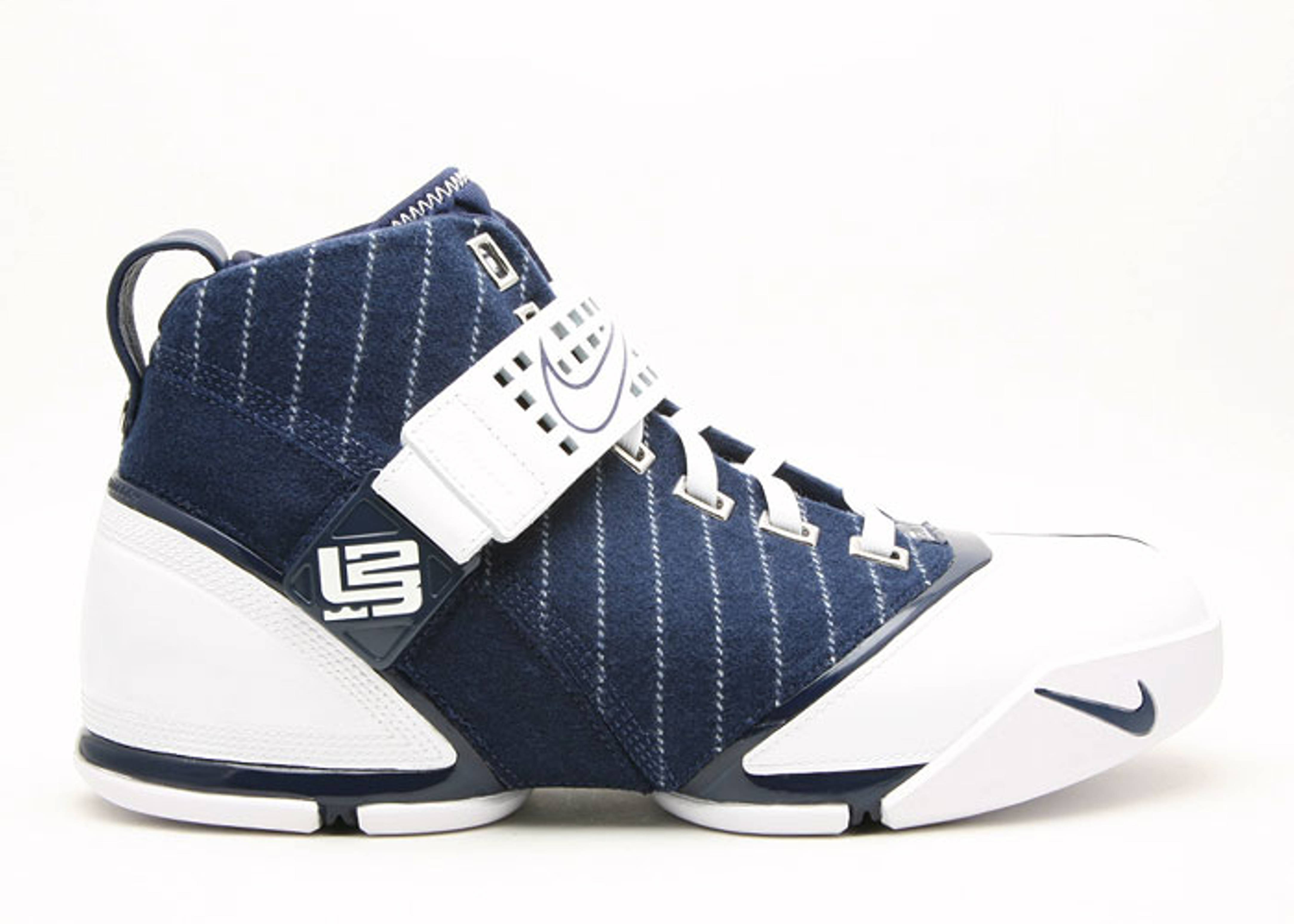 "zoom lebron 5 ""yankees"""