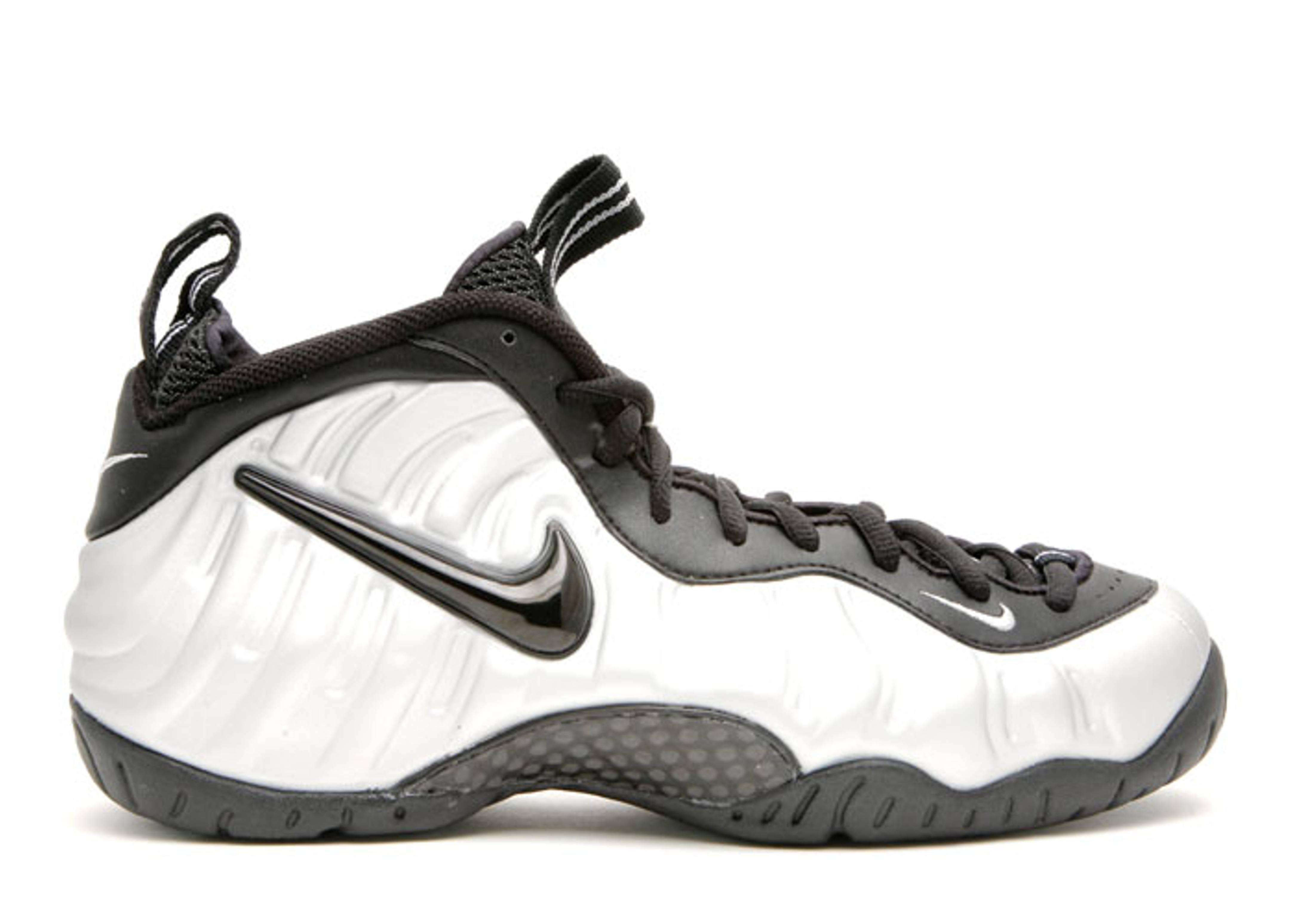 fe35cbbb7a4c2 ... nike. air foamposite pro  Nike Air Foamposite Pro Metallic Silver Black  ...