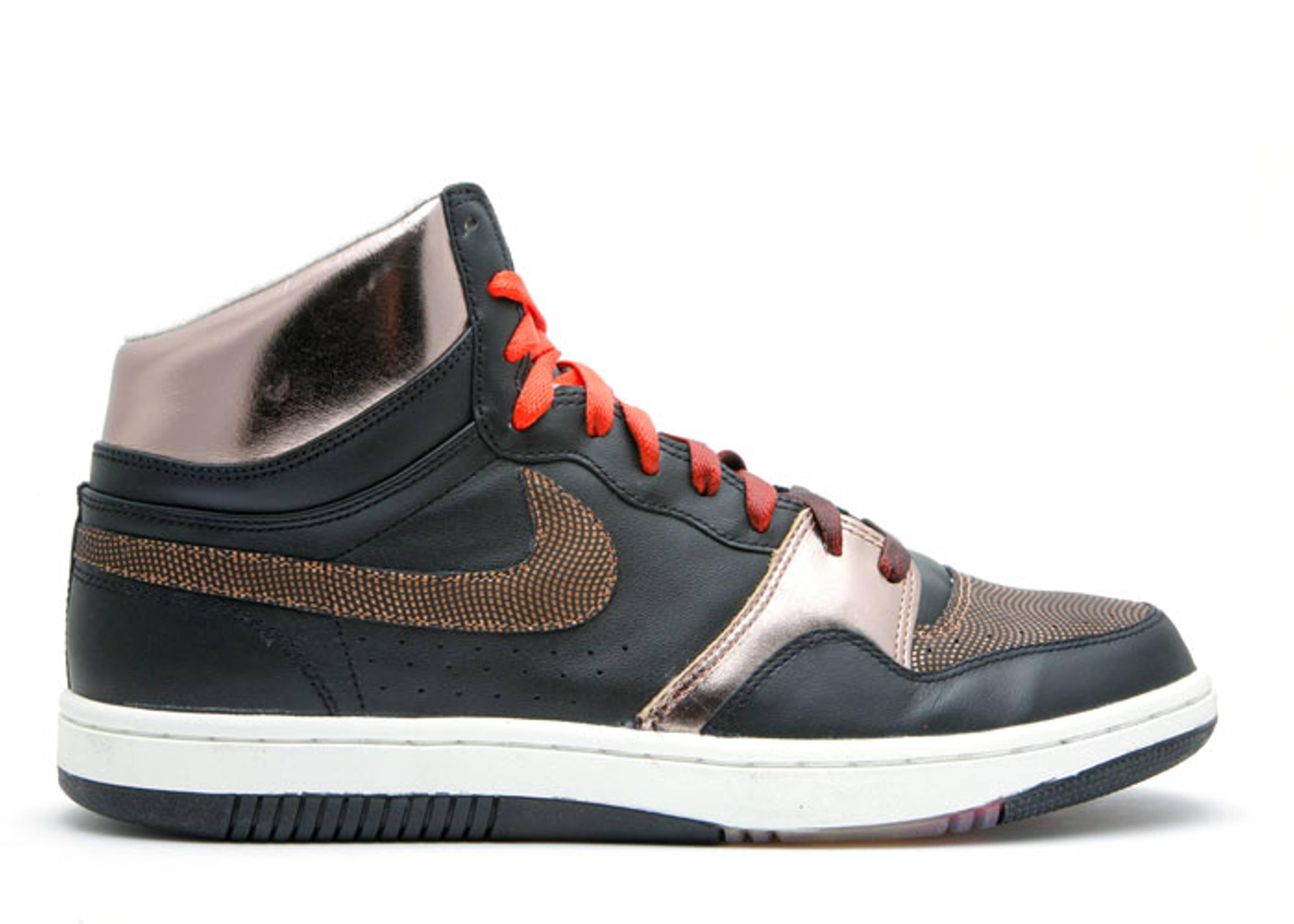 990779da1677 Court Force High - Nike - 314431 081 - black metallic copper-white-team red