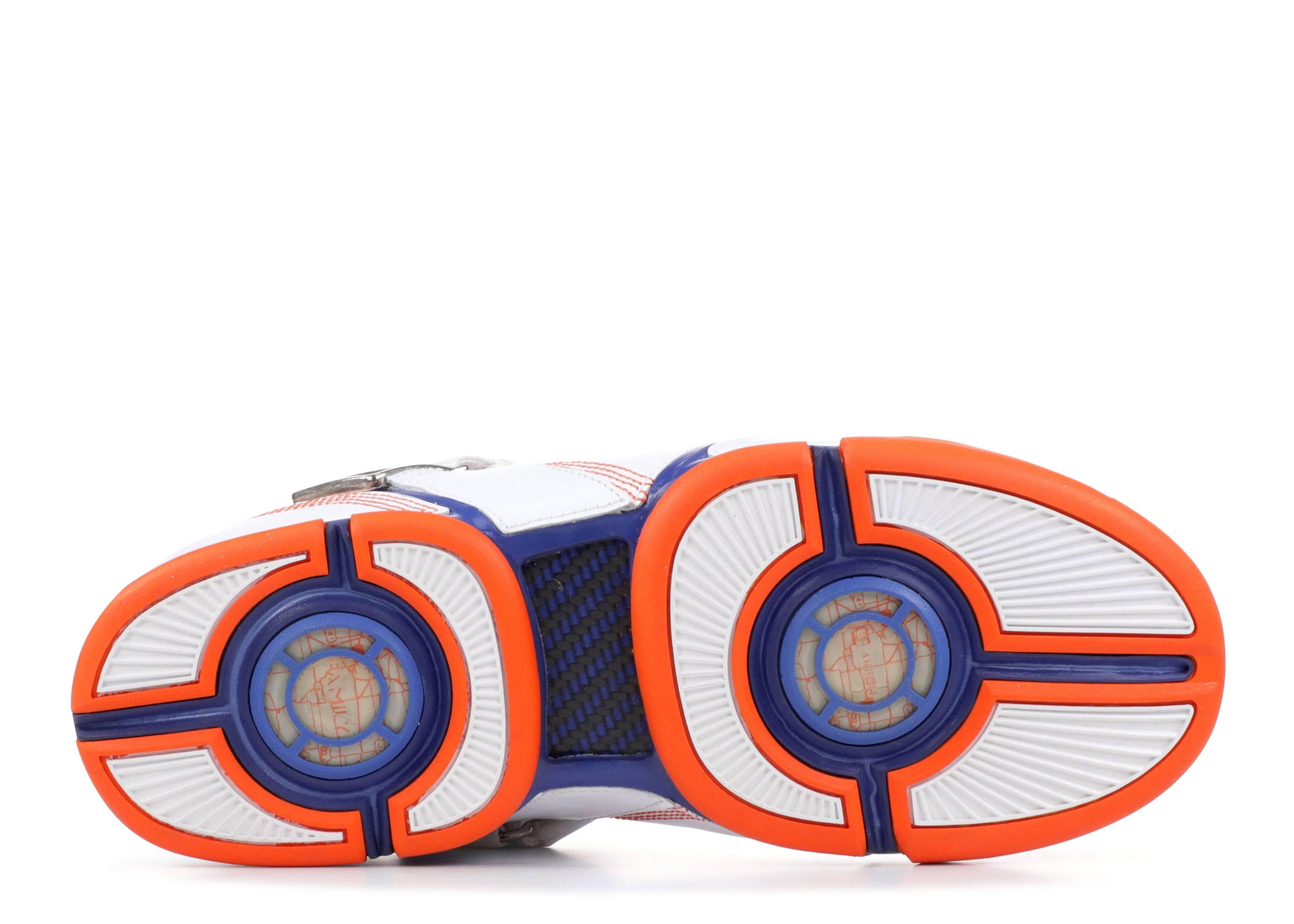 zoom lebron 5 whiteblue orange