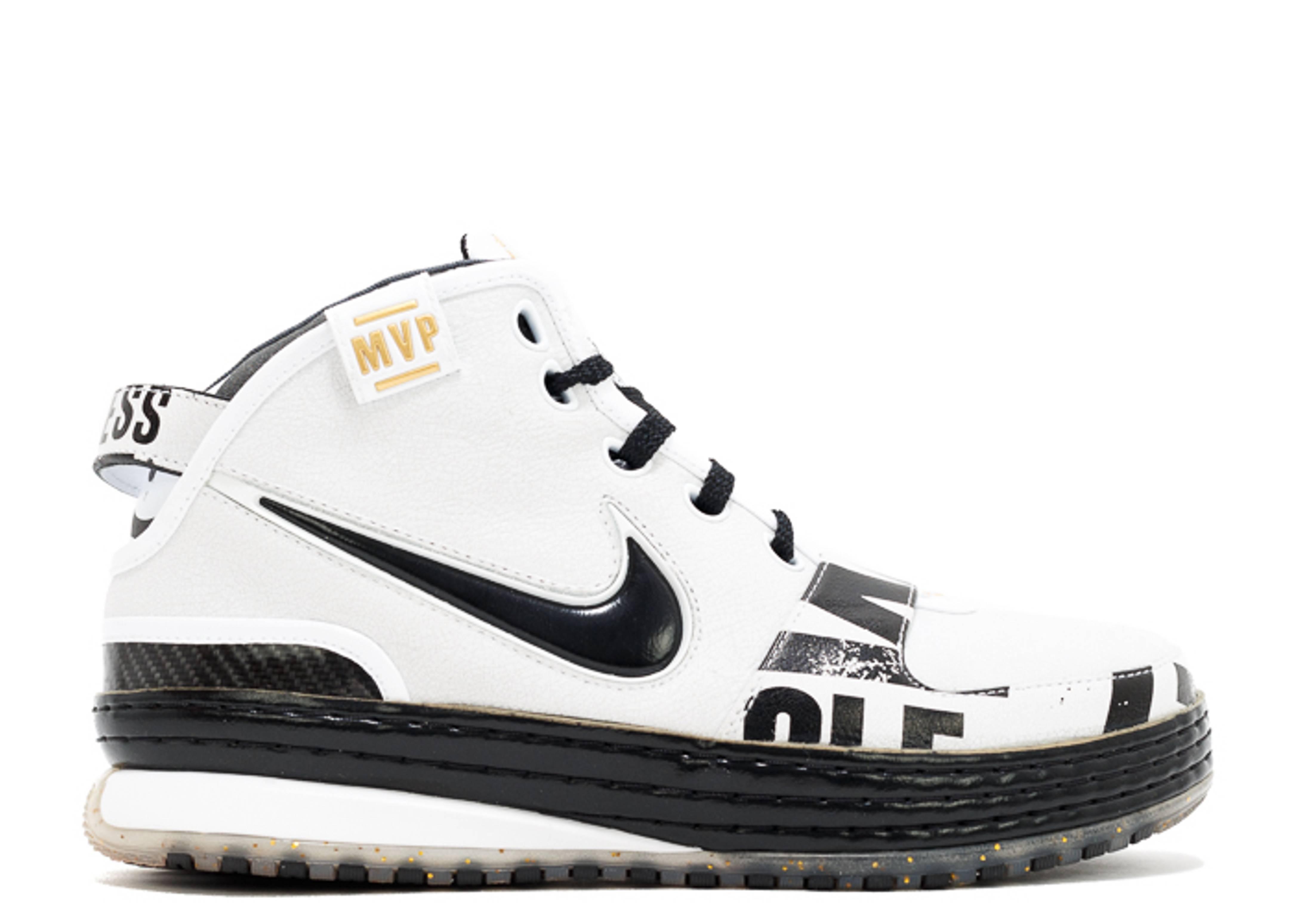 f0c66e542b614 Zoom Lebron 6 Mvp - Nike - 386735 101 - white black-metallic gold ...