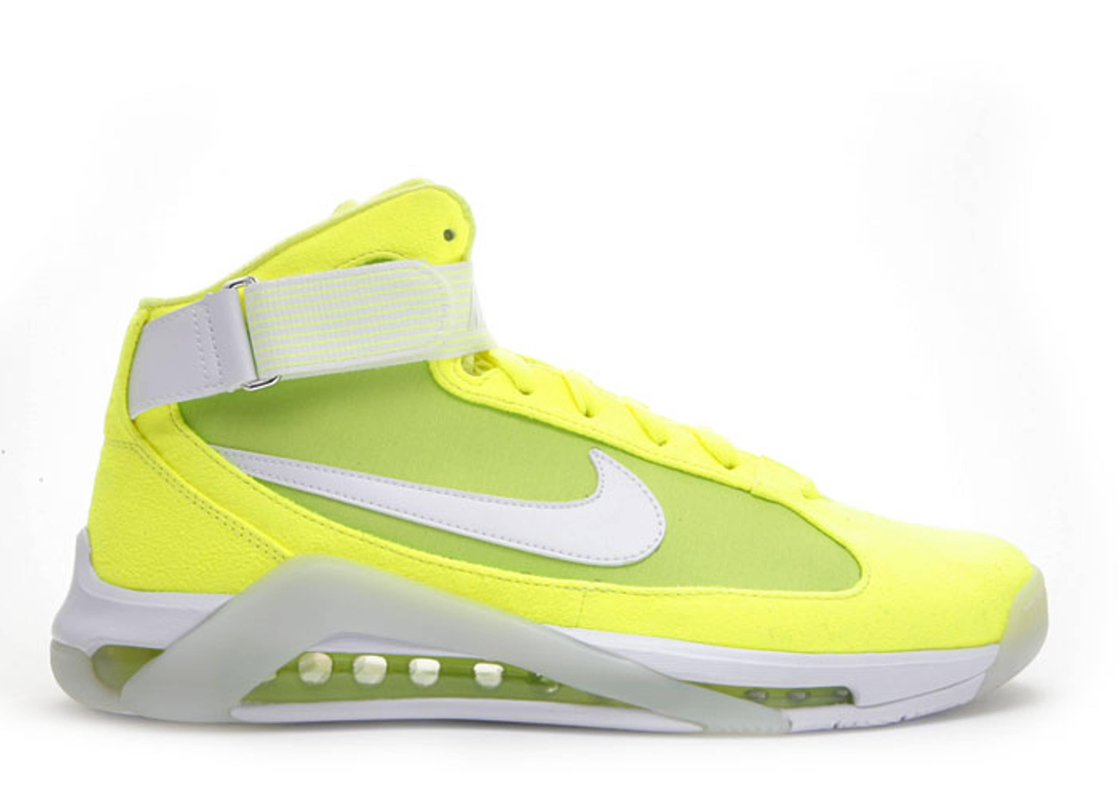 bdda358b210952 ... Hypermax Nfw Tennis Ball Neon Yellow White Flight Club Nike Hypermax -  Carlos Boozer PE ...