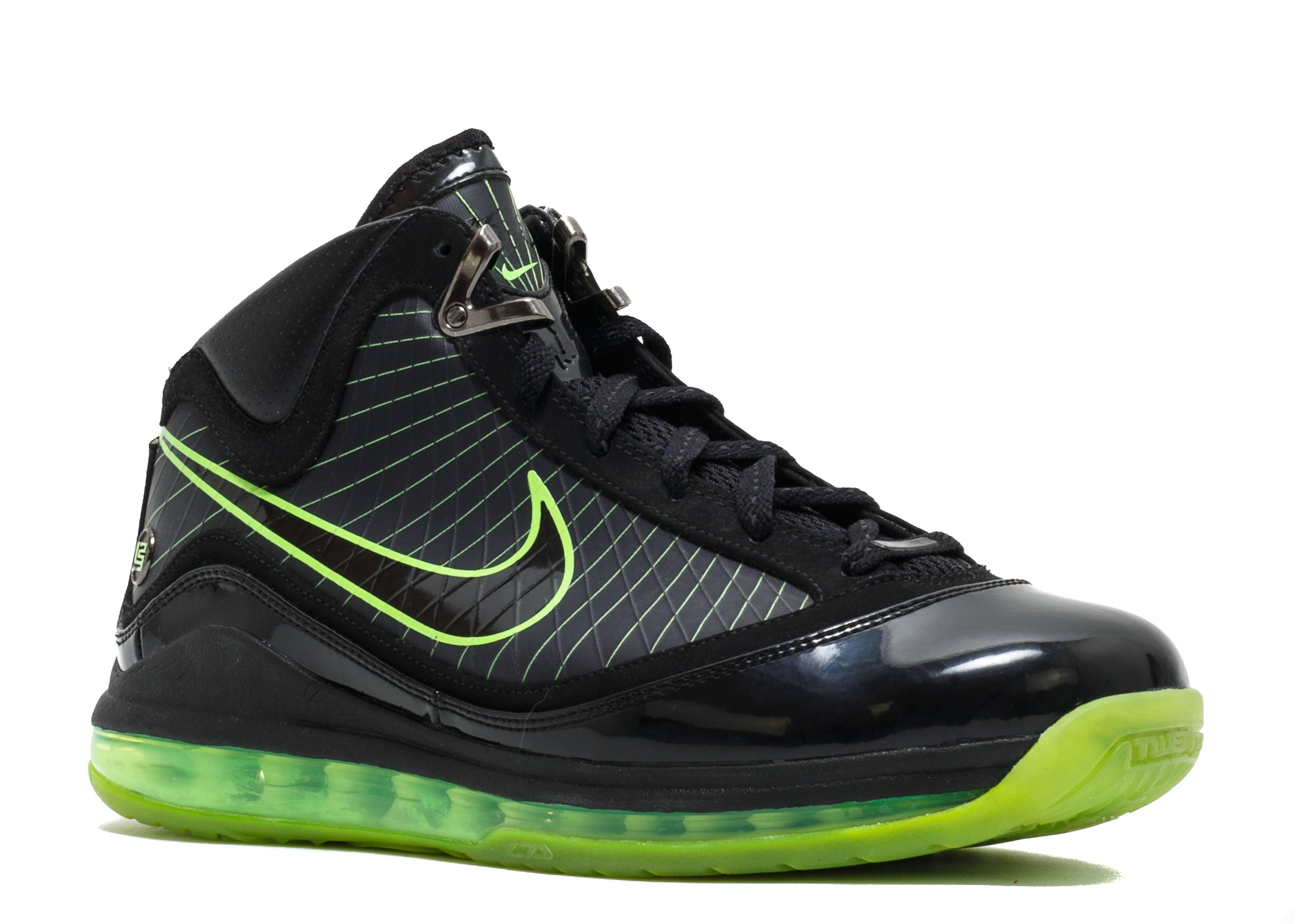 """Air Max Lebron 7 """"dunkman"""" - Nike - 375664 006 - black ..."""