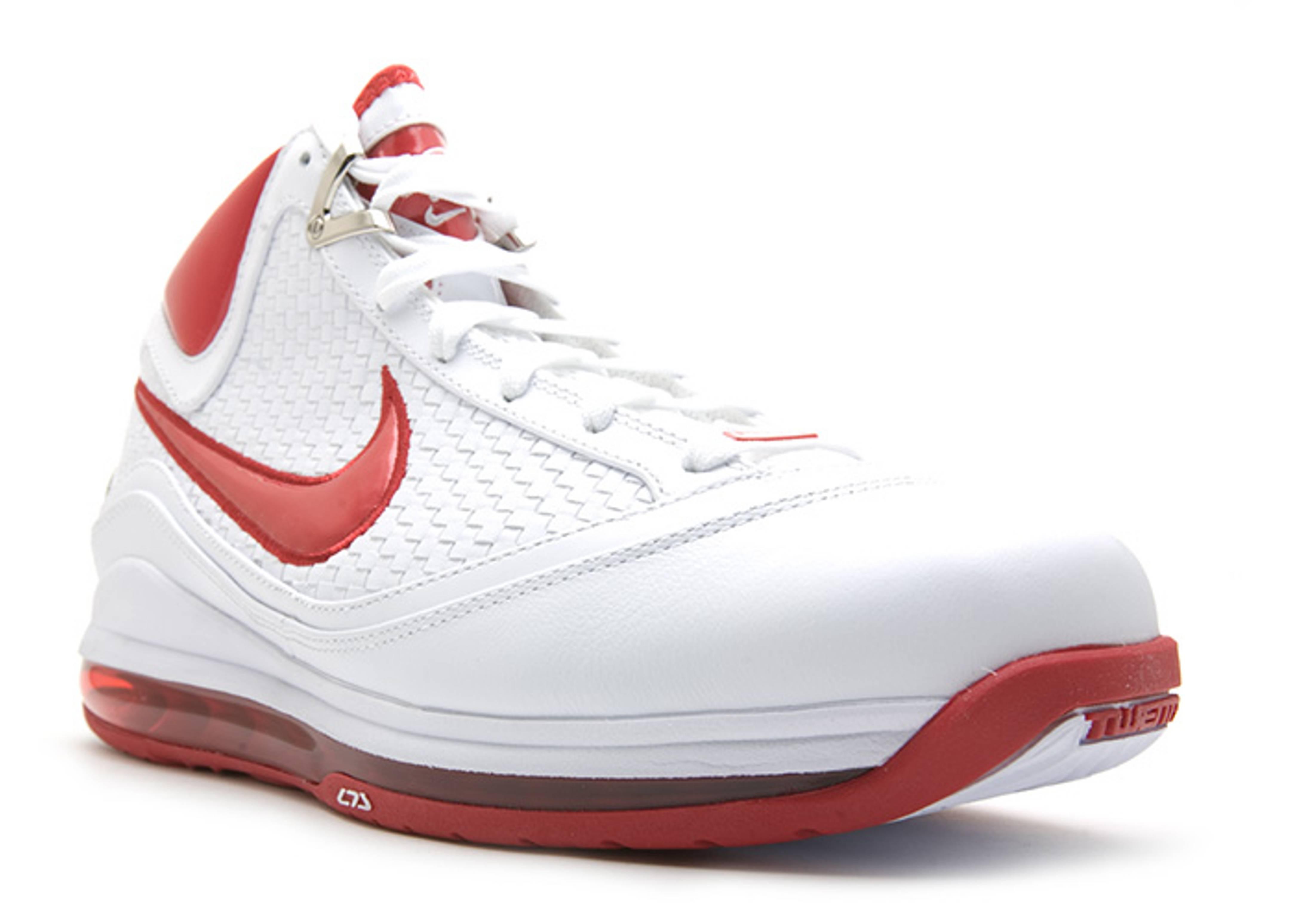 Air Max Lebron 7 Nfw - Nike - 383578 161 - white/varsity red | Flight Club
