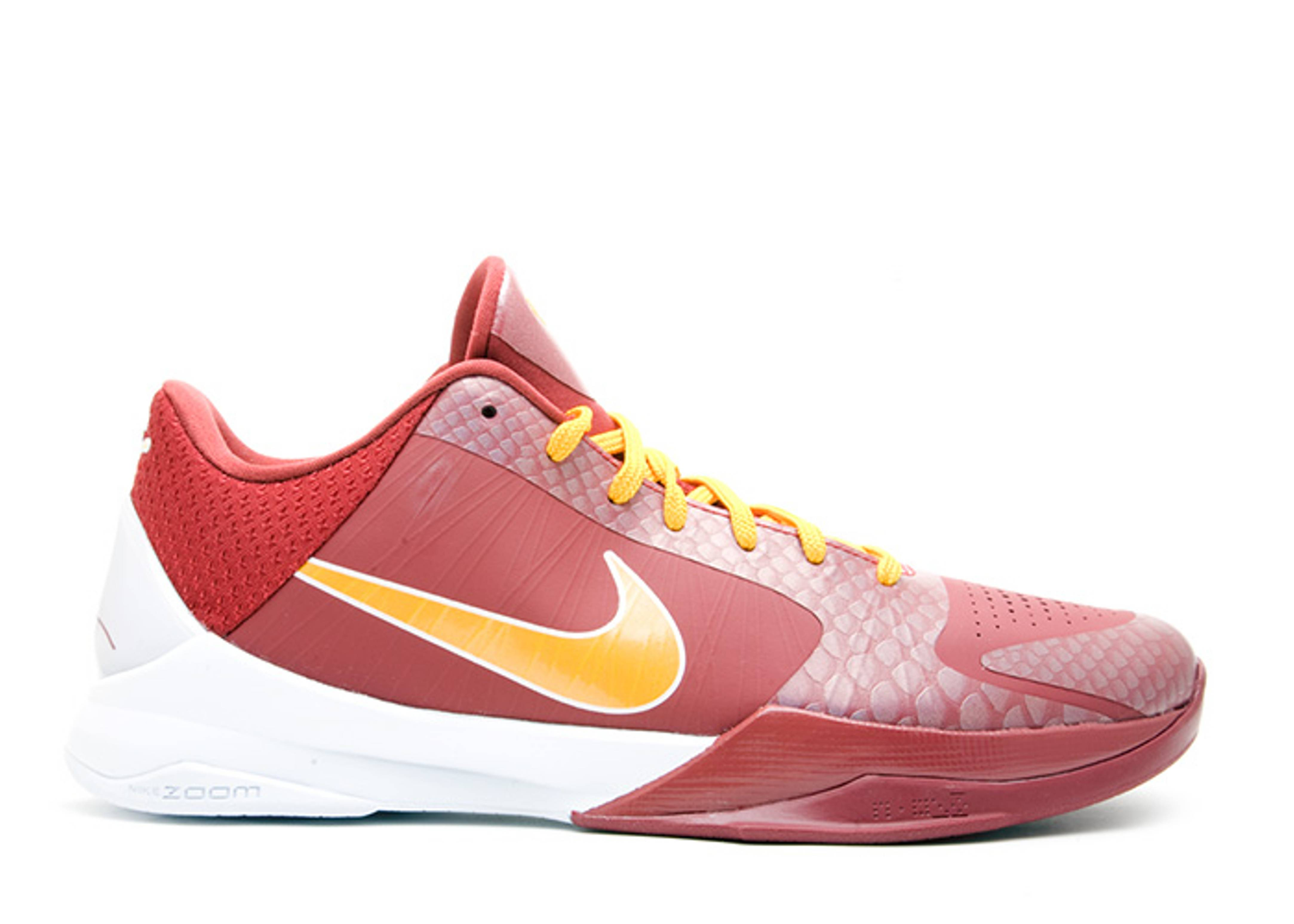 "zoom kobe 5 ""university of southern california"""