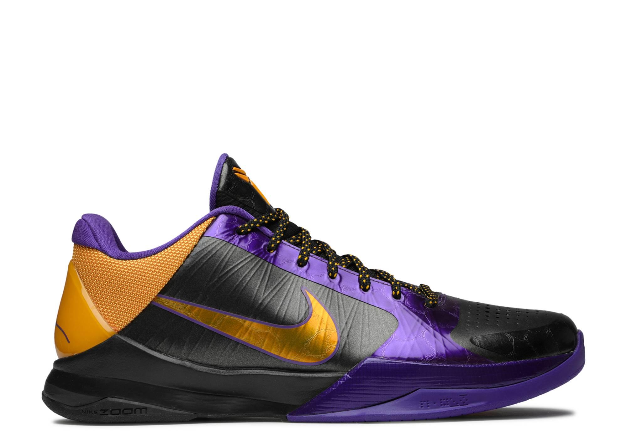 3625907e260 Zoom Kobe 5 - Nike - 386429 071 - black del sol-varsity purple ...