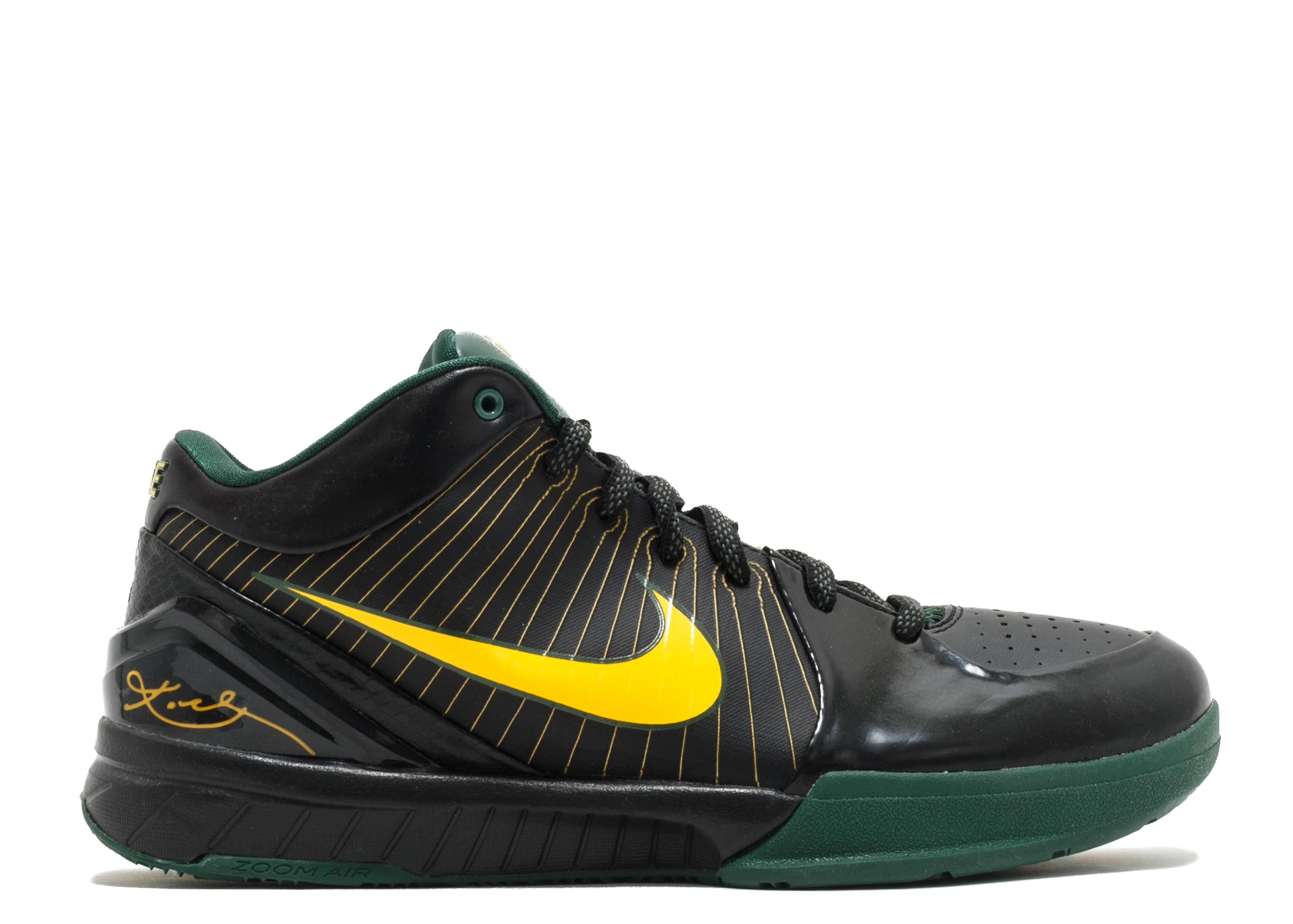 Zoom Kobe 4 Rice Nike 344335 071 Blackvrsty Mz Dp