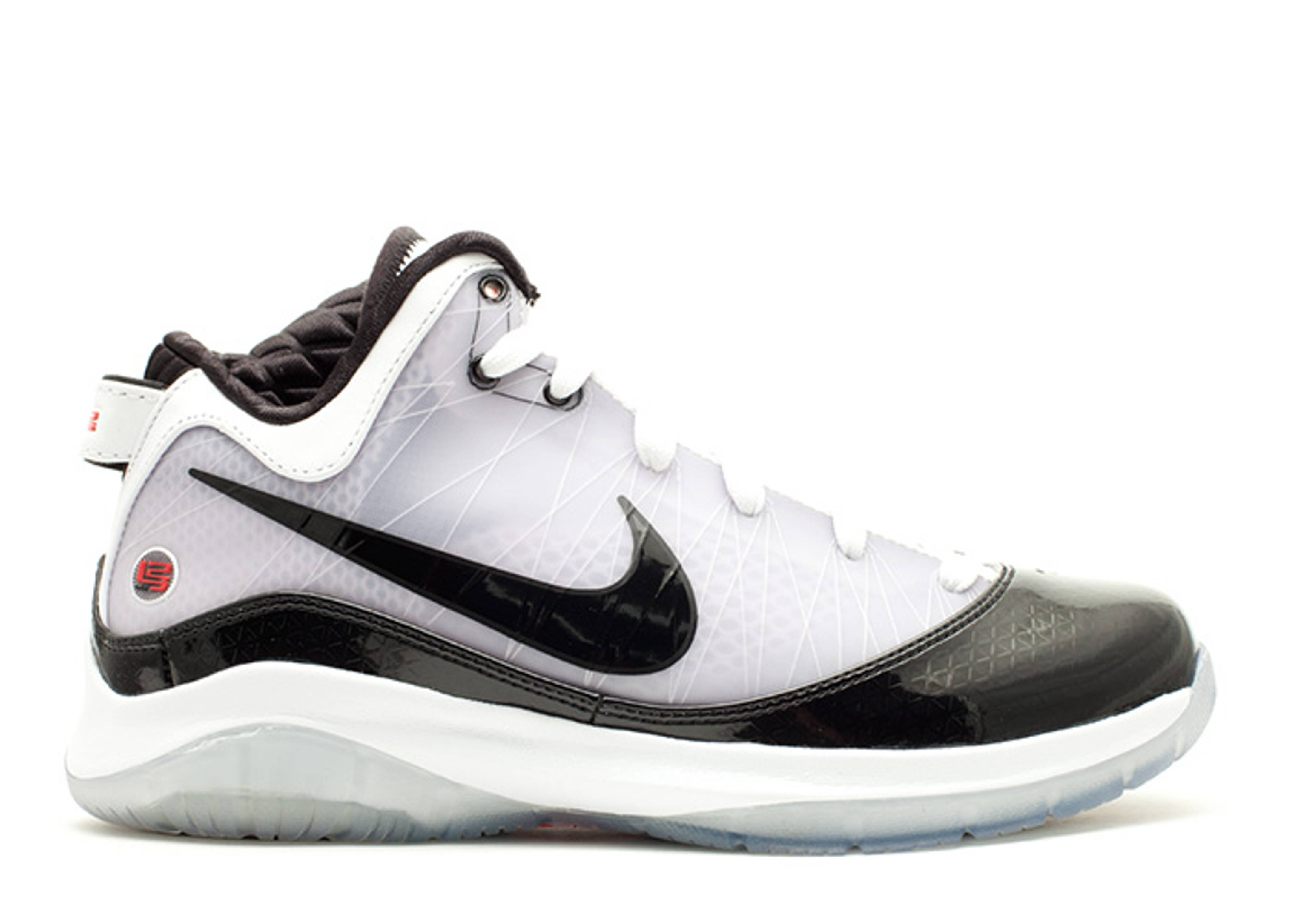 64b43c1ff1b605 Lebron 7 P.s. (pop) - Nike - 408758 101 - white black-sport red ...