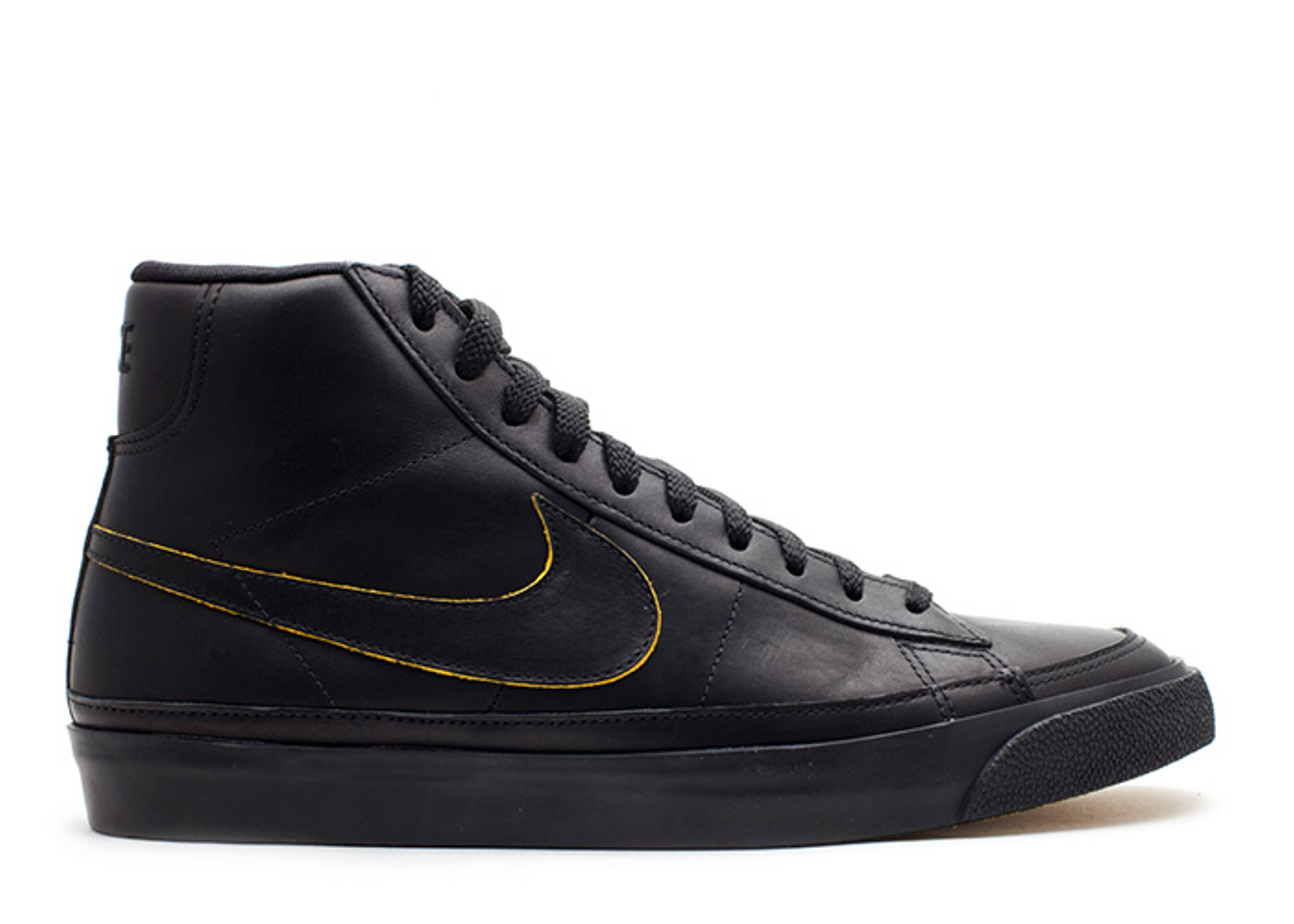 Hommes Nike Blazer Noir Et Vert Mi Club De Formateurs clairance site officiel meilleur endroit agréable la sortie authentique eE7djC