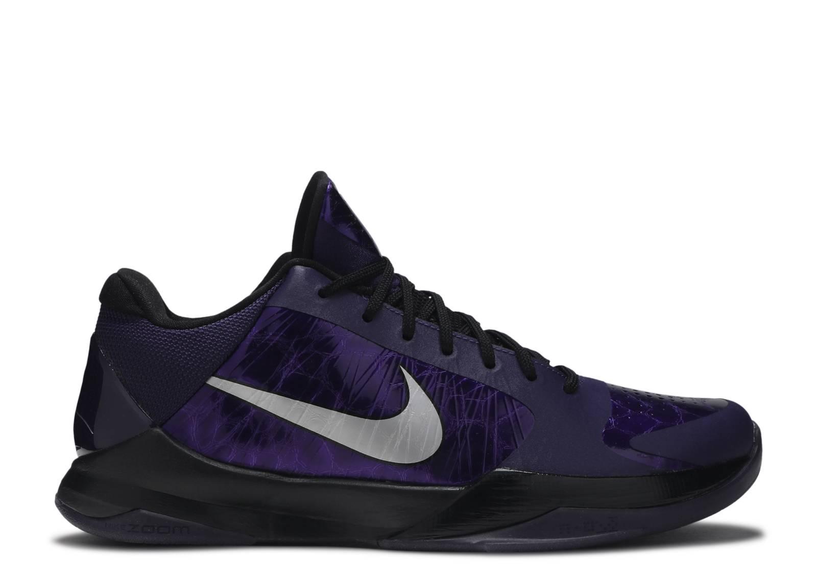 sports shoes 46979 294ee Zoom Kobe 5 - Nike - 386429 500 - inkmetallic silver-black-ice  Flight  Club