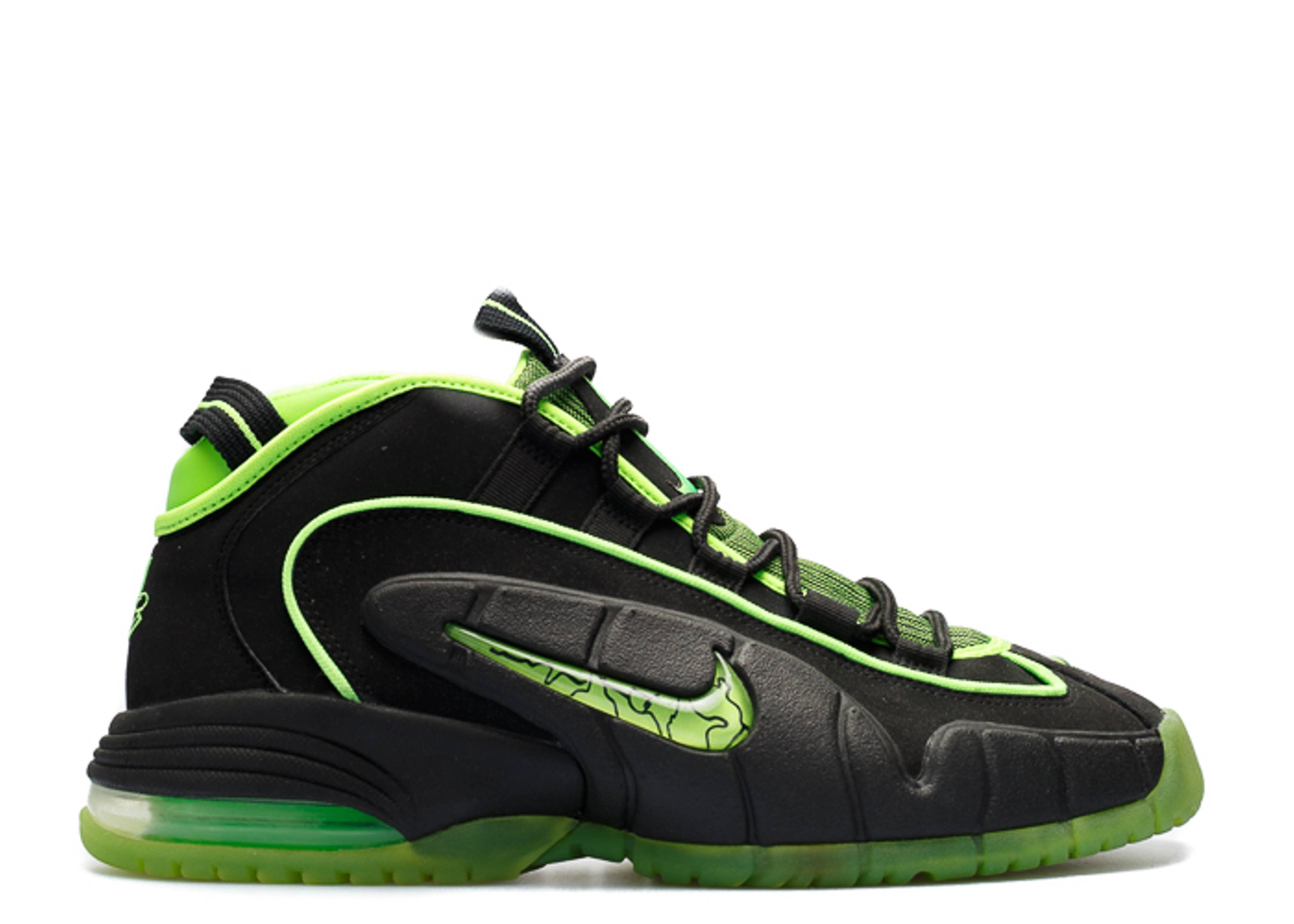 NIKE AIR MAX PENNY 05 HOH 438793 033 blackelectric green Size 14 | eBay