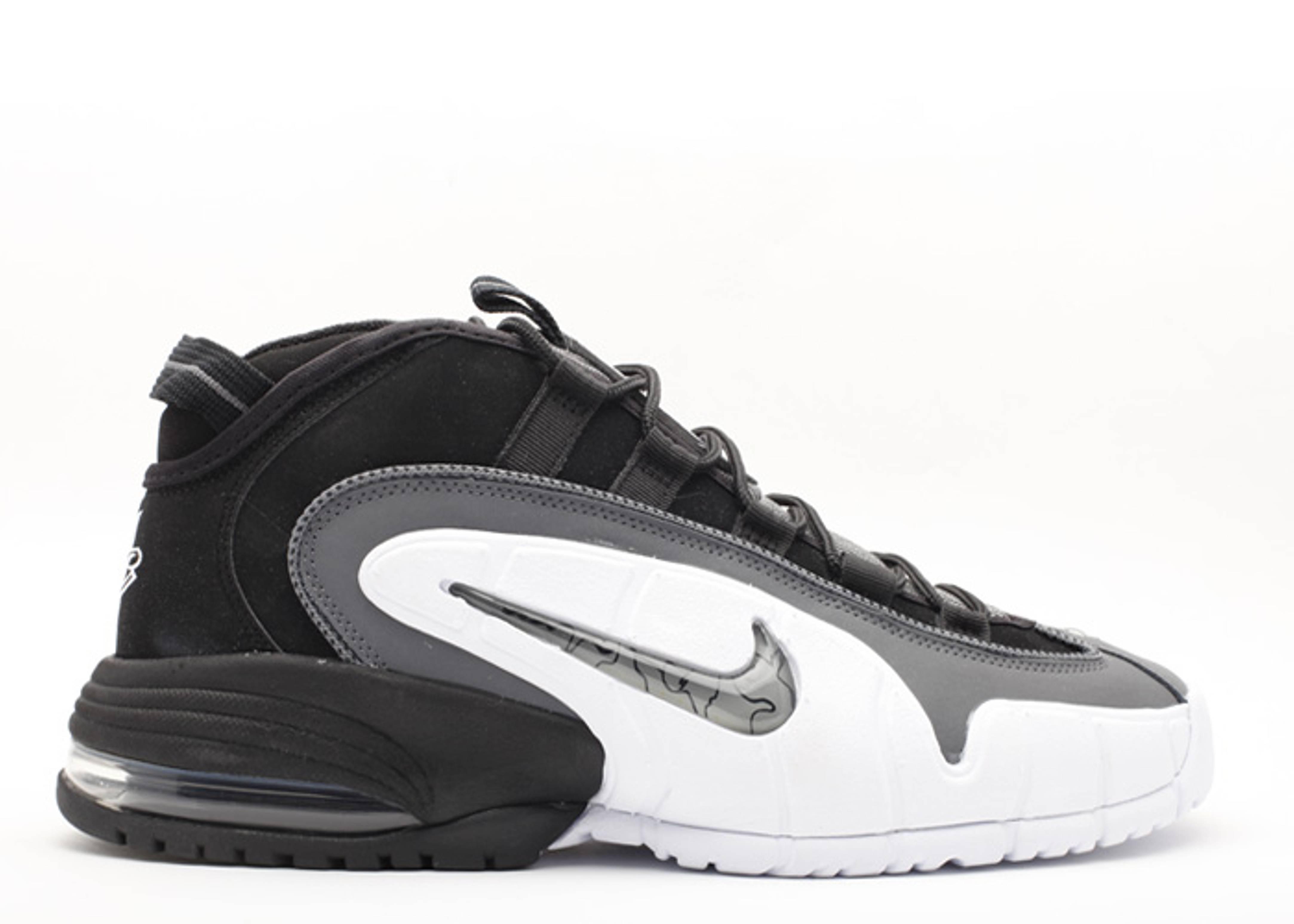 sale retailer 7909d 69ab5 Air Max Penny - Nike - 311089 004 - black dark grey-white   Flight Club