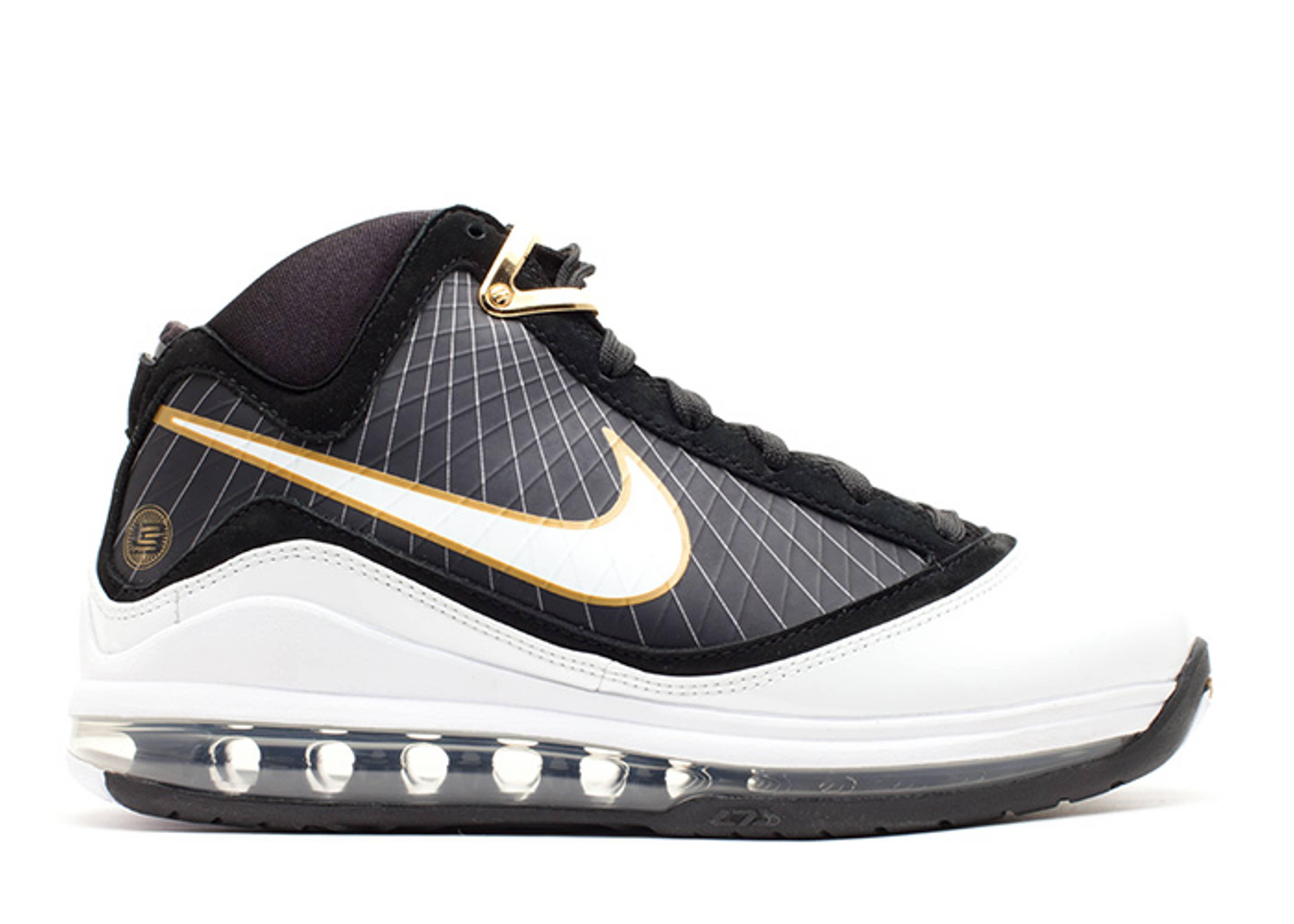 uk availability 8b2e7 005a2 Zoom Lebron 7 (gs) - Nike - 375793 011 - black/white ...