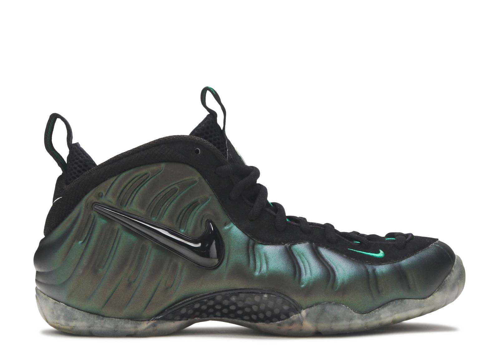 Discount 195454 Nike Air Flightposite 1 Men Dark Pine Green Shoes