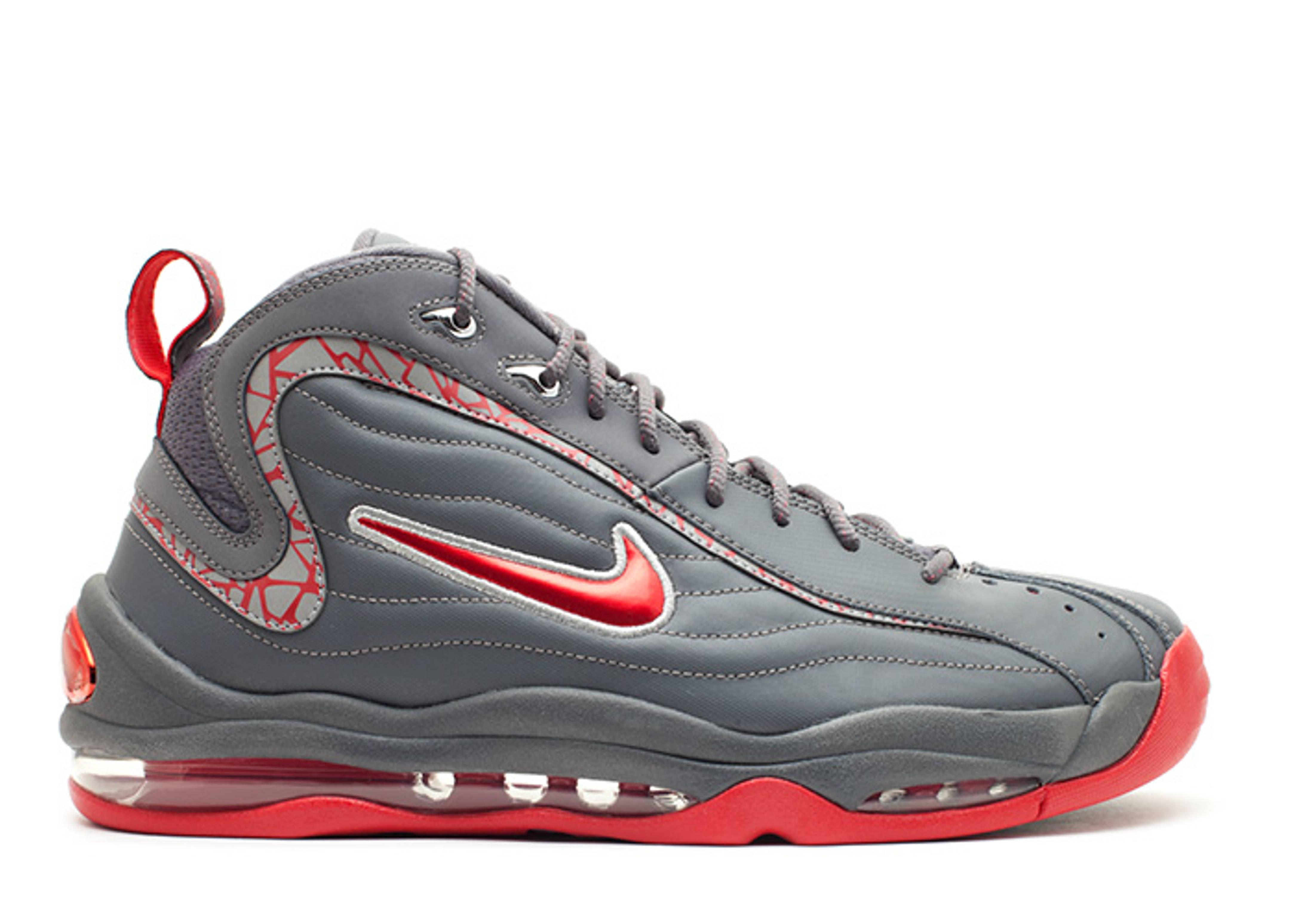 nike air total max uptempo silver