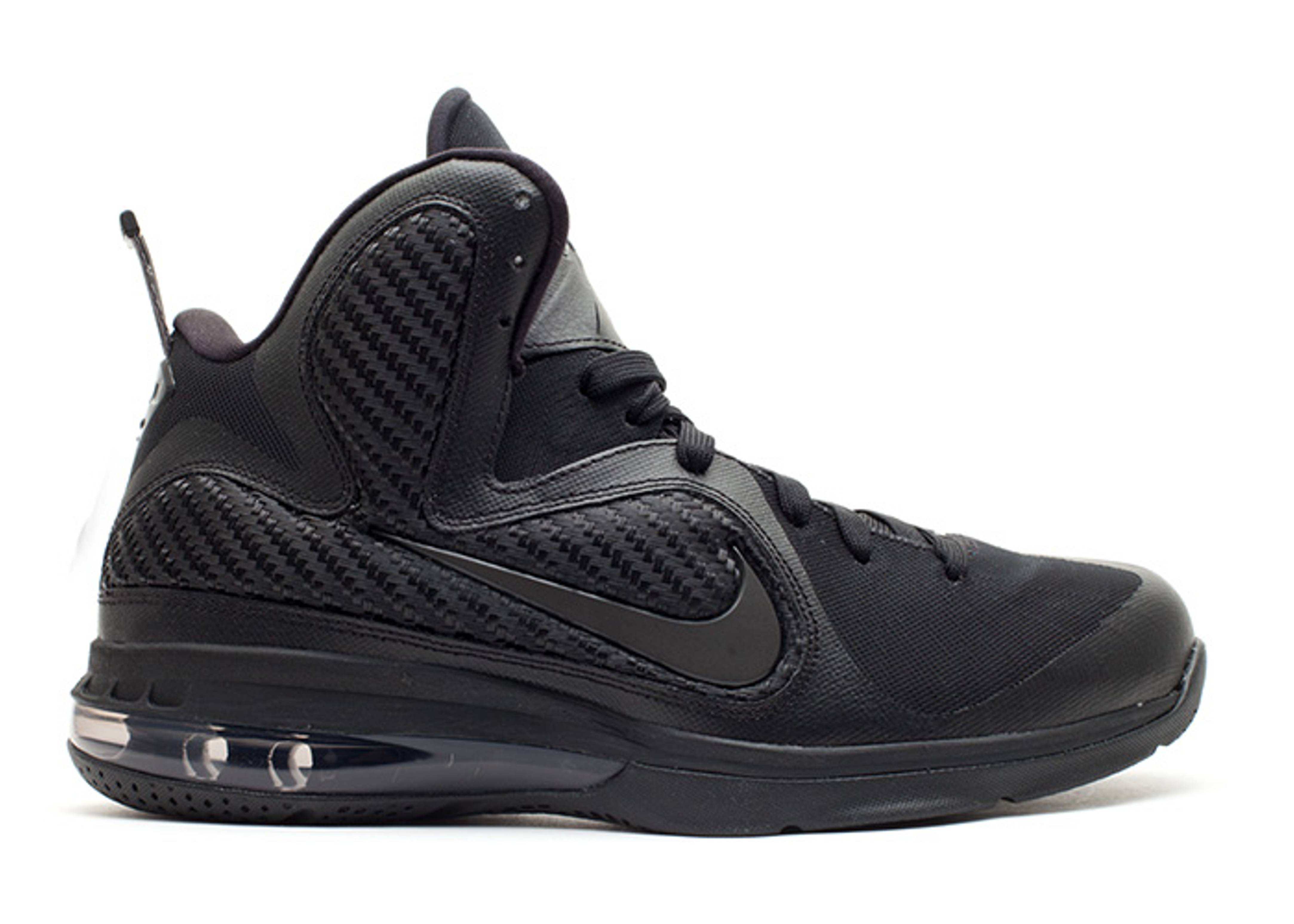 "lebron 9 ""blackout"""