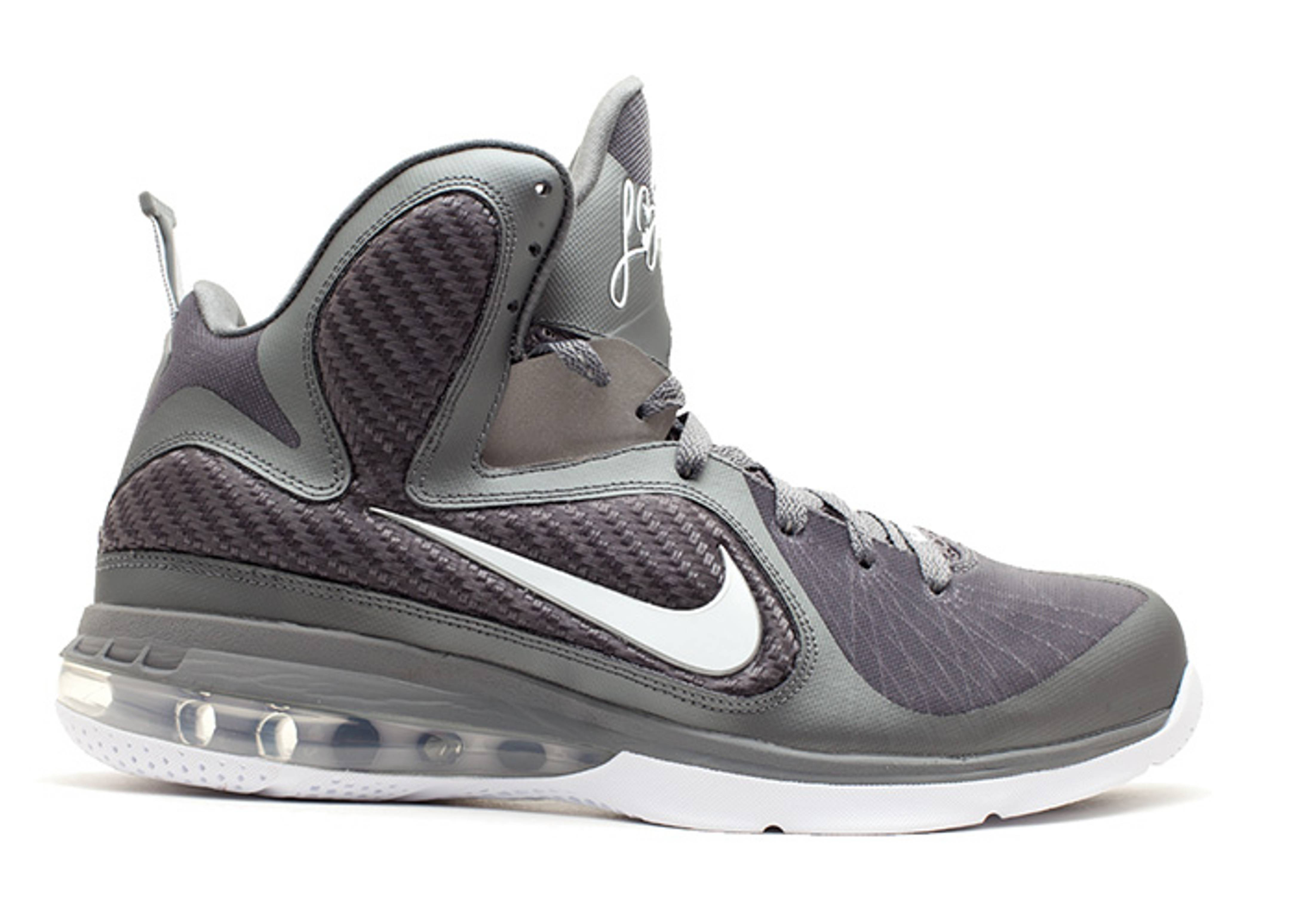 "LeBron 9 'Cool Grey' ""Cool Grey"""