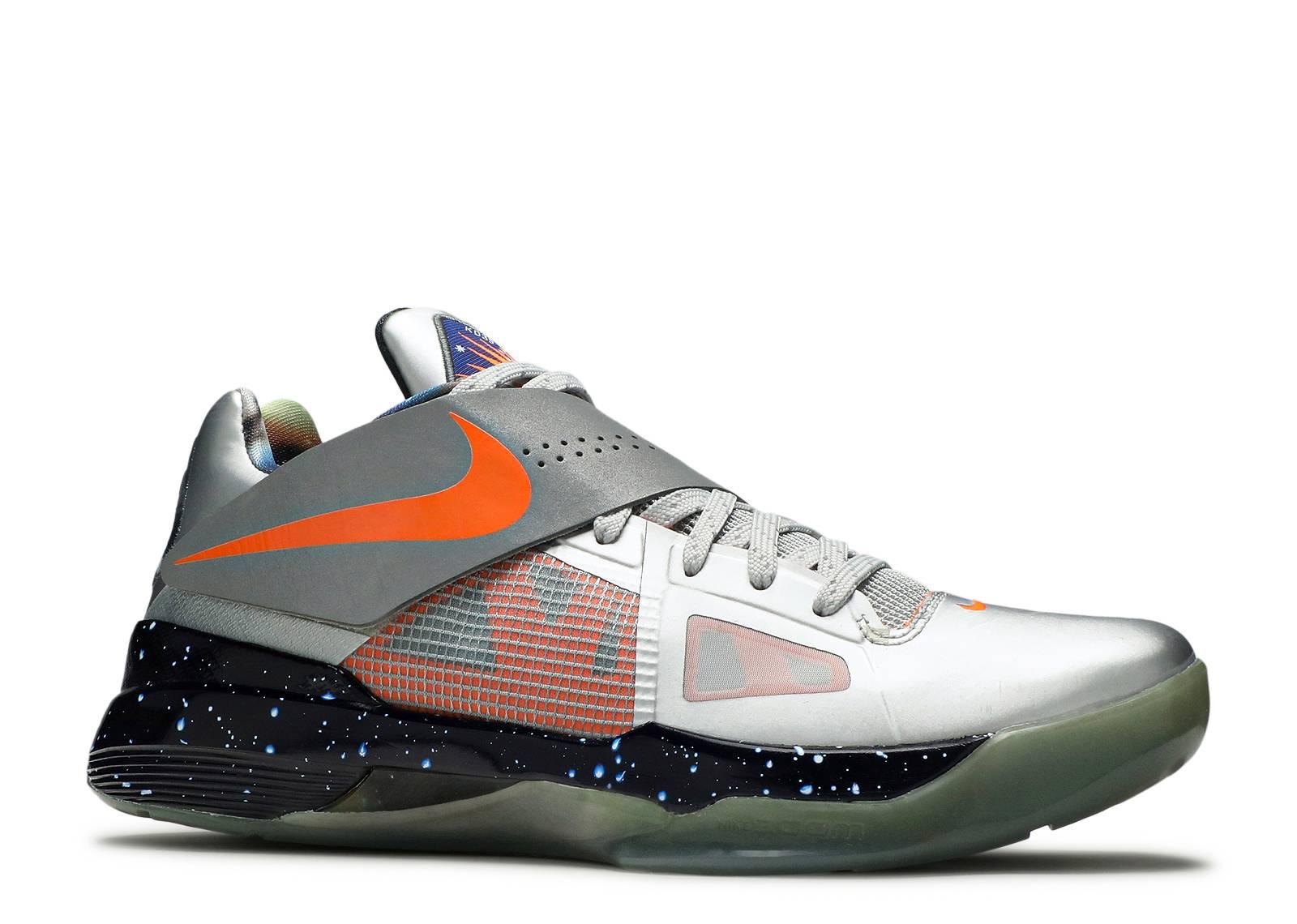 """Zoom Kd 4 As """"galaxy"""" - Nike - 520814 001 - mtllc silver ..."""