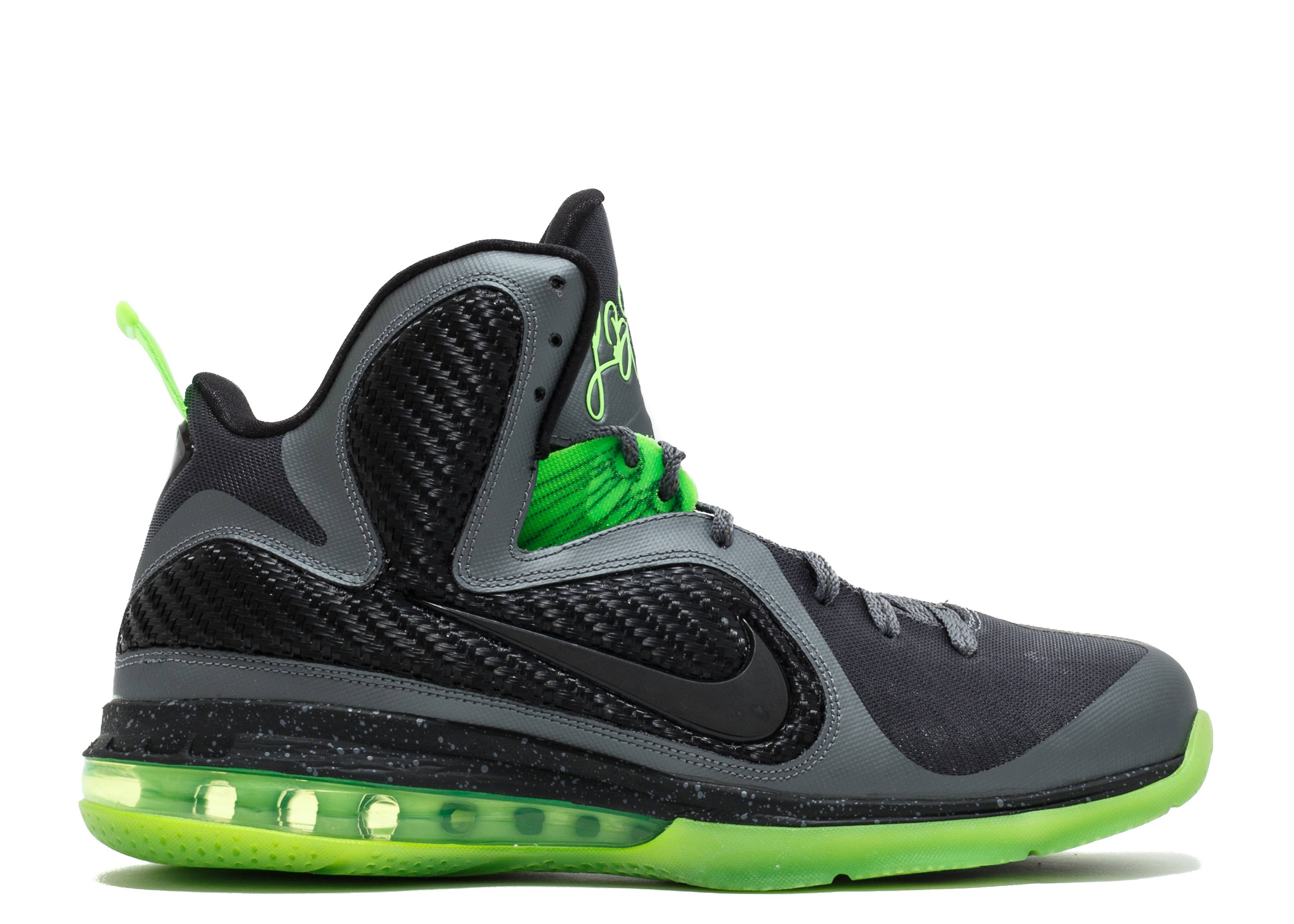 "Lebron 9 ""dunkman"" - Nike - 469764 006 - dark grey/black ..."