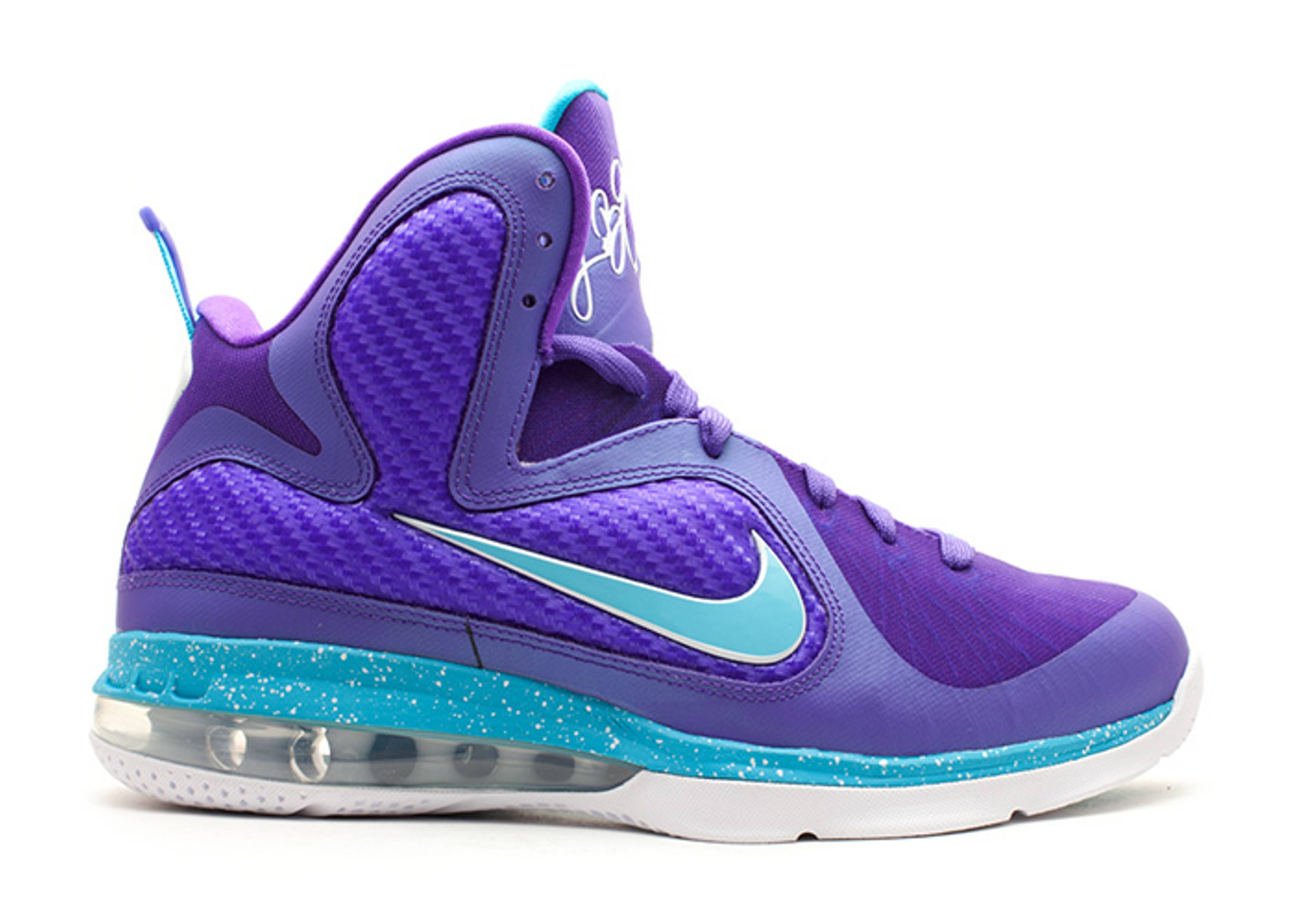 Nike Purple And Teal Shoes